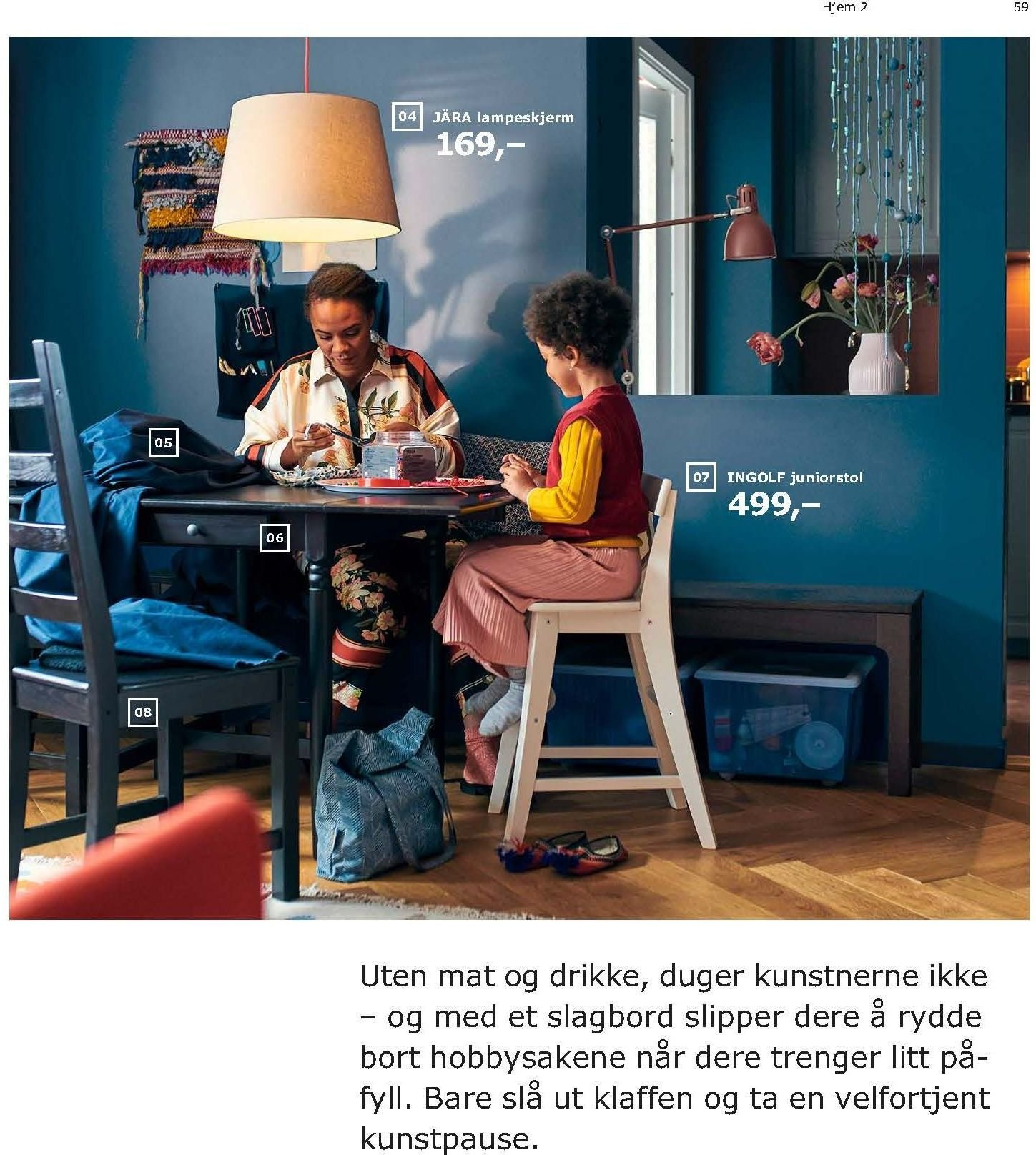 Kundeavis IKEA - 21.08.2018 - 11.08.2019. Side 59.
