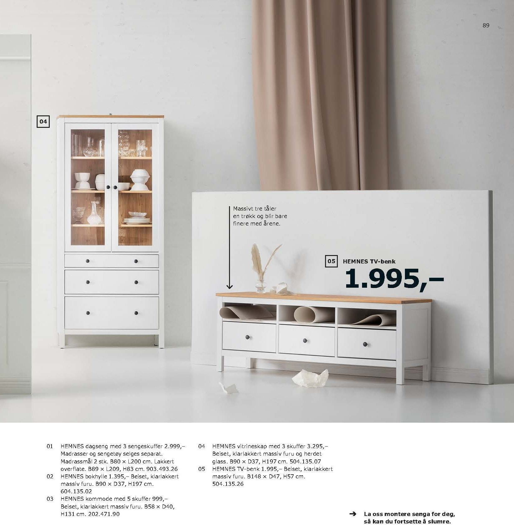 Kundeavis IKEA - 21.08.2018 - 11.08.2019. Side 89.