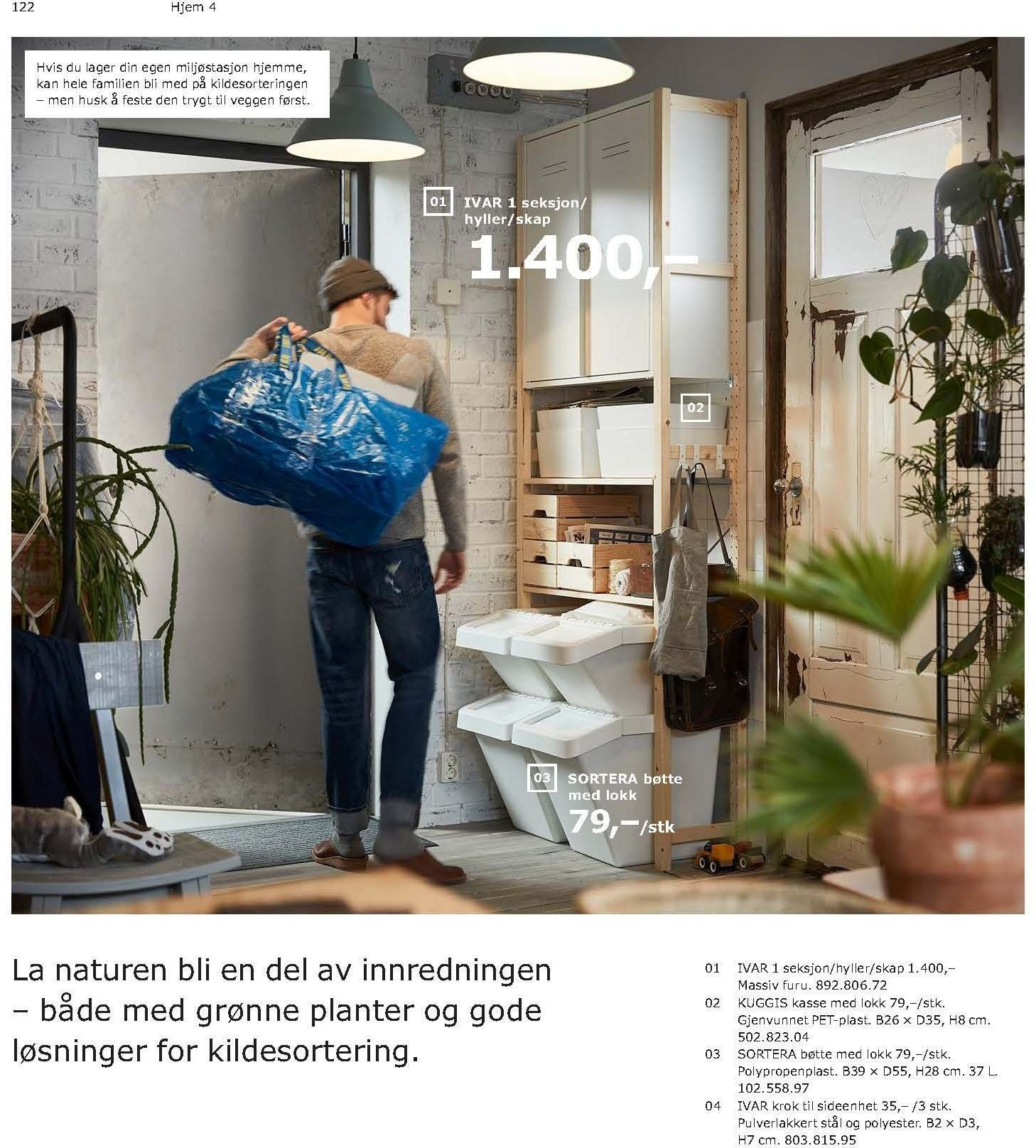 Kundeavis IKEA - 21.08.2018 - 11.08.2019. Side 122.