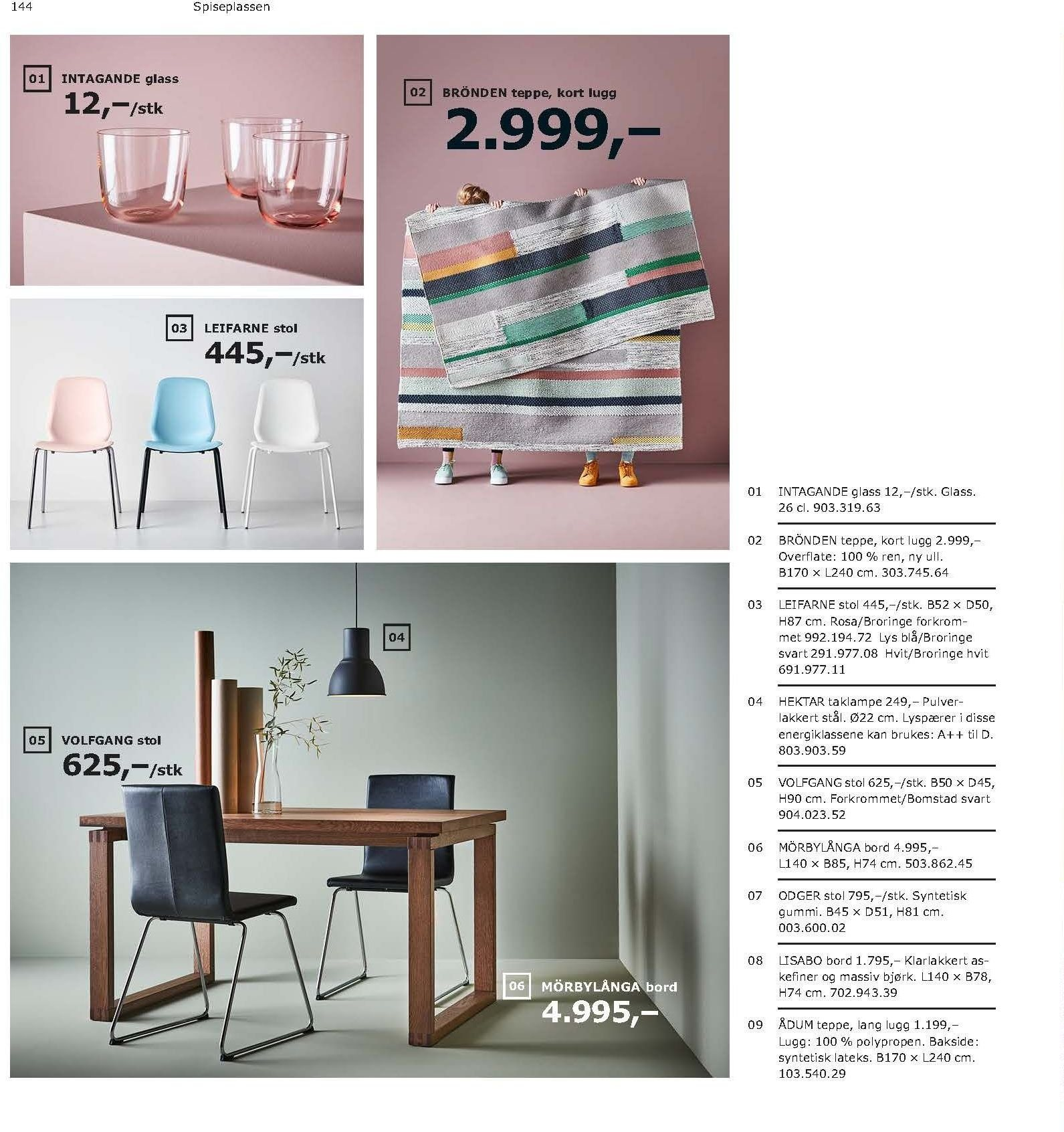 Kundeavis IKEA - 21.08.2018 - 11.08.2019. Side 144.