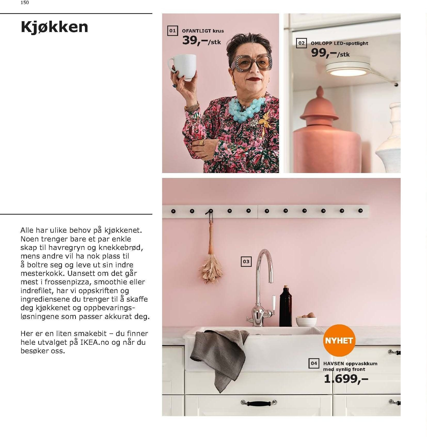 Kundeavis IKEA - 21.08.2018 - 11.08.2019. Side 150.