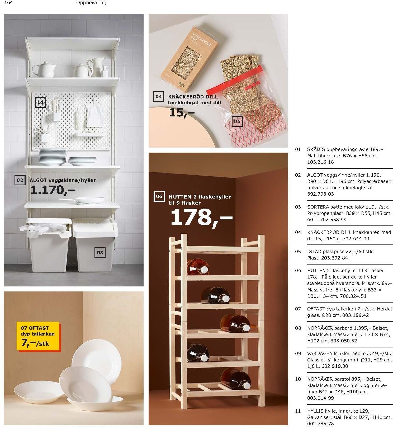 Kundeavis IKEA - 21.08.2018 - 11.08.2019. Side 164.