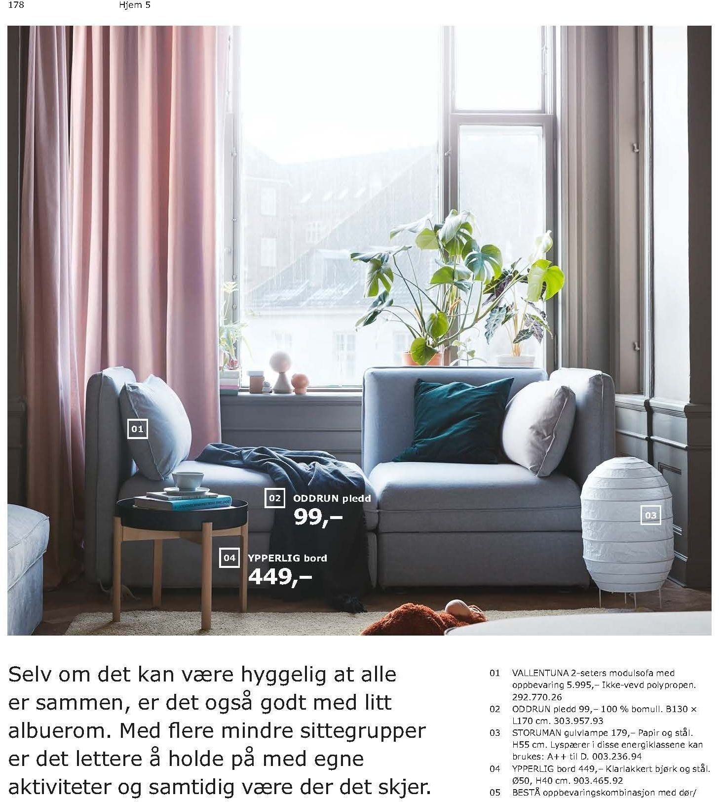 Kundeavis IKEA - 21.08.2018 - 11.08.2019. Side 178.