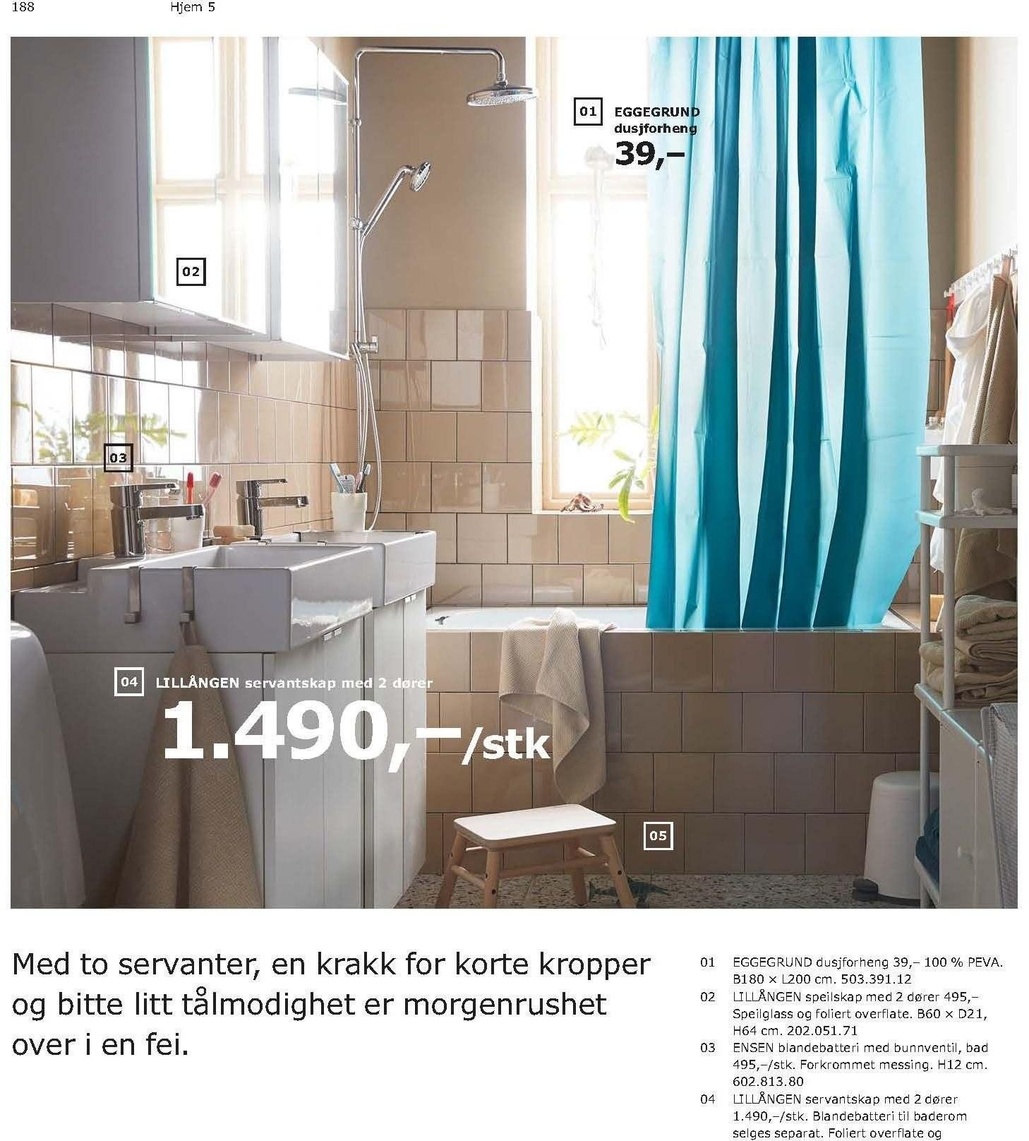 Kundeavis IKEA - 21.08.2018 - 11.08.2019. Side 188.