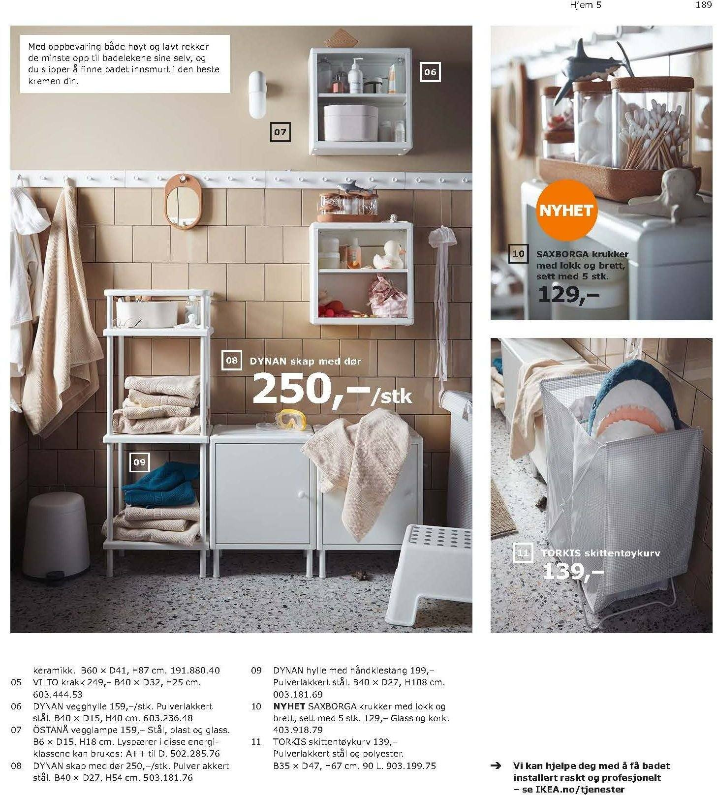 Kundeavis IKEA - 21.08.2018 - 11.08.2019. Side 189.