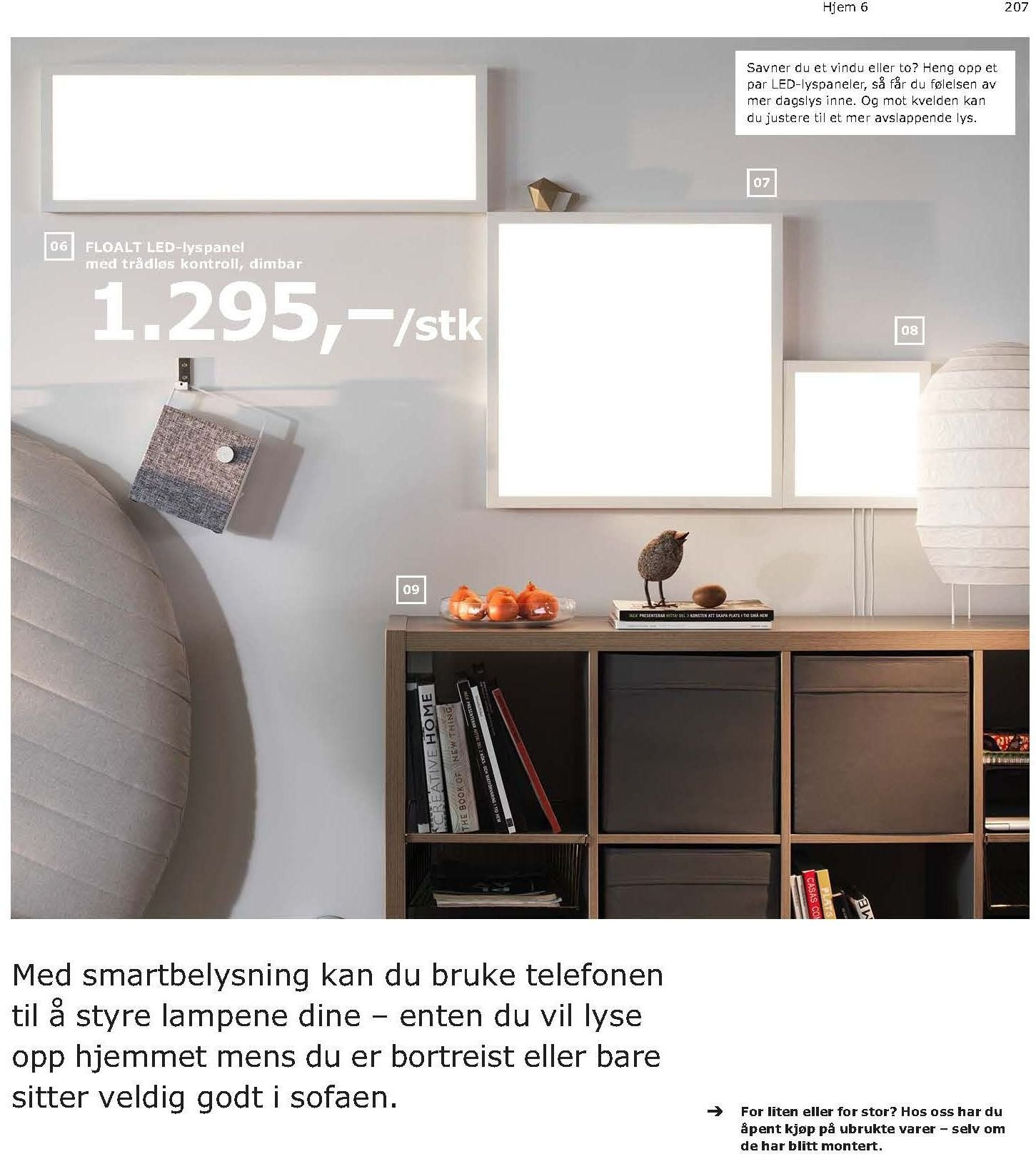 Kundeavis IKEA - 21.08.2018 - 11.08.2019. Side 207.