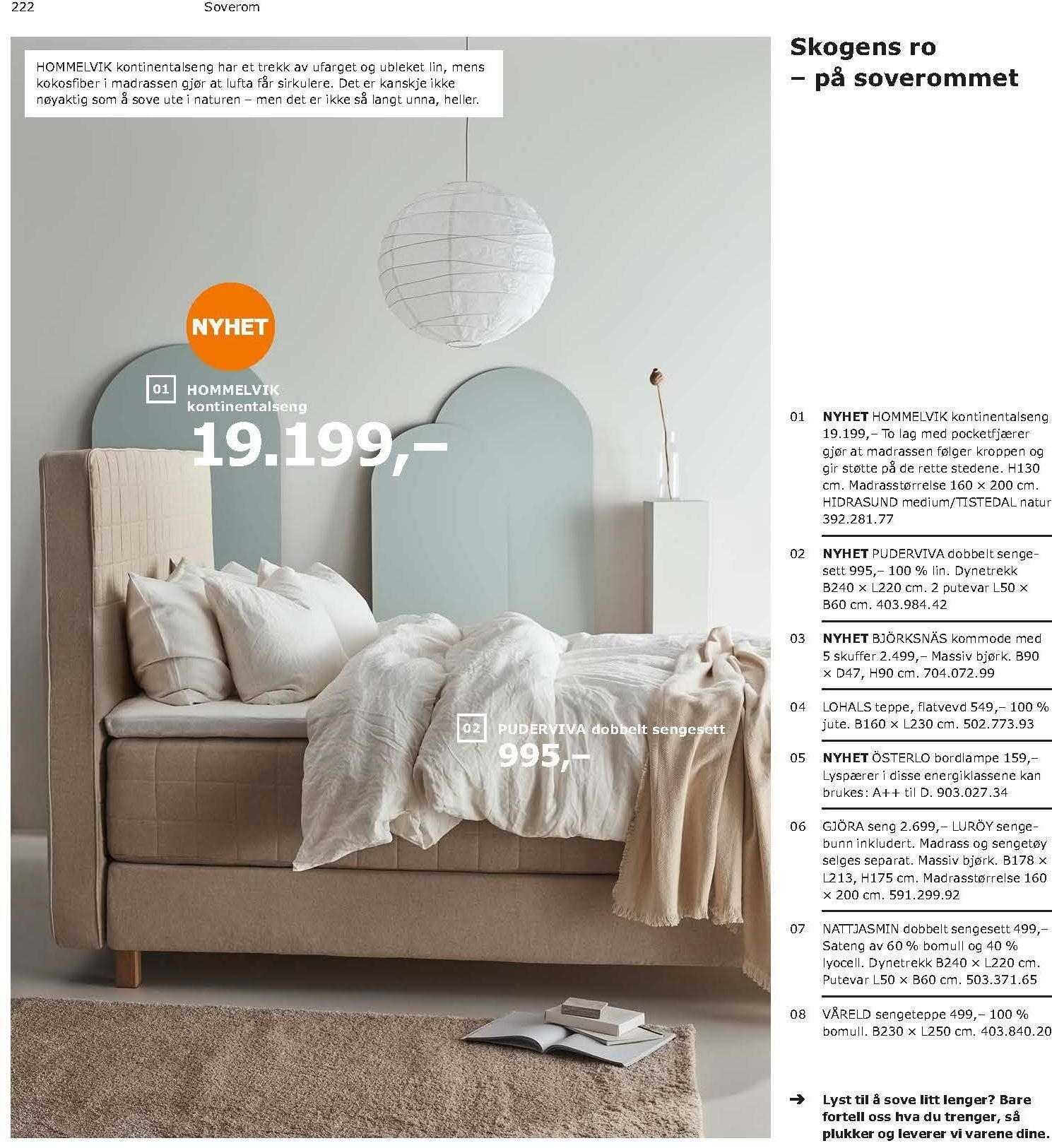 Kundeavis IKEA - 21.08.2018 - 11.08.2019. Side 222.