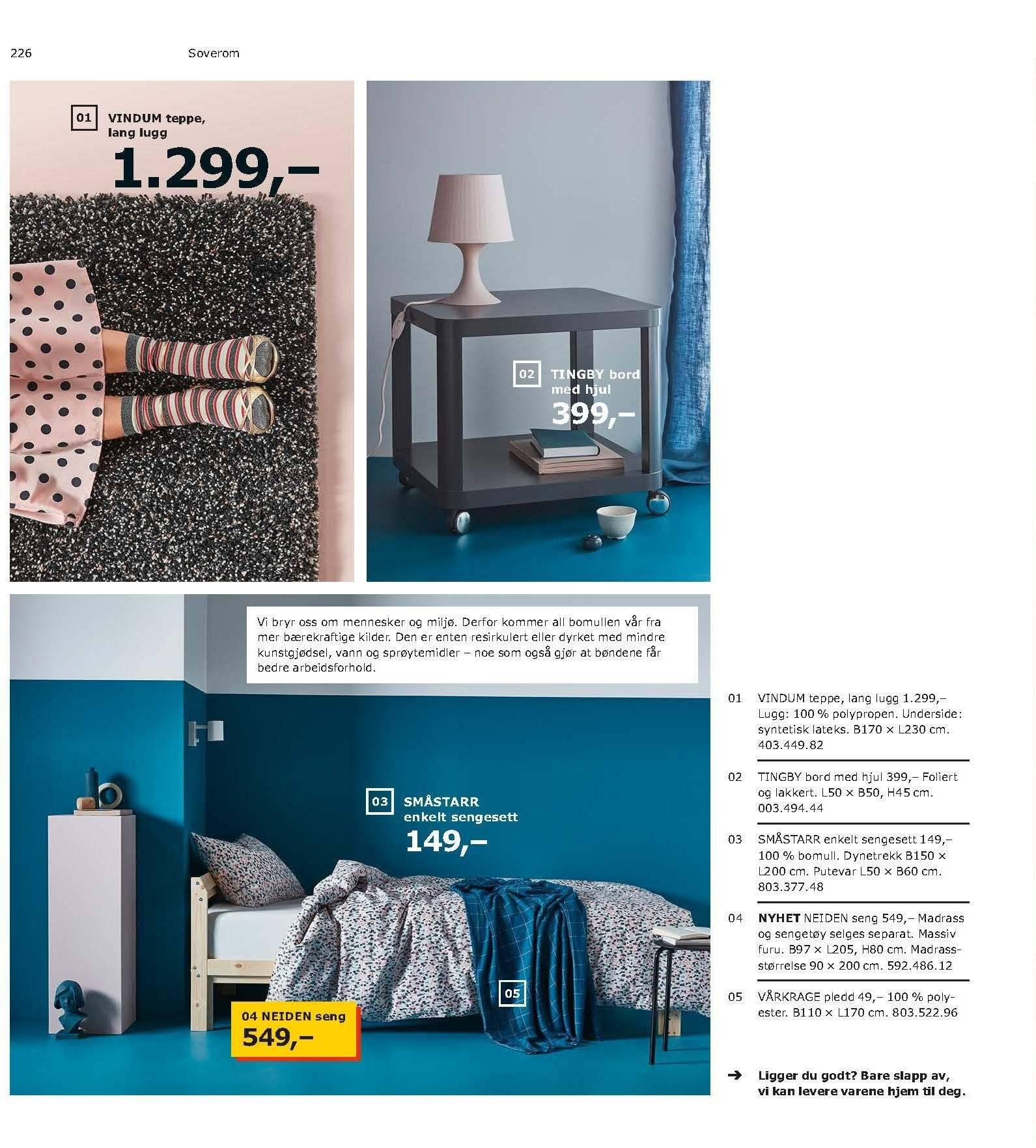 Kundeavis IKEA - 21.08.2018 - 11.08.2019. Side 226.
