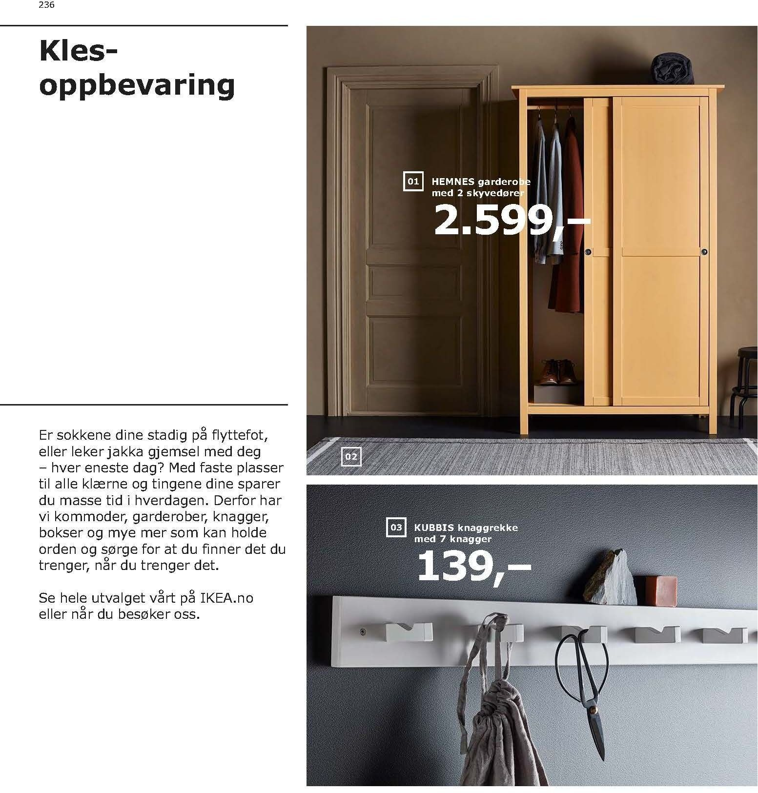 Kundeavis IKEA - 21.08.2018 - 11.08.2019. Side 236.