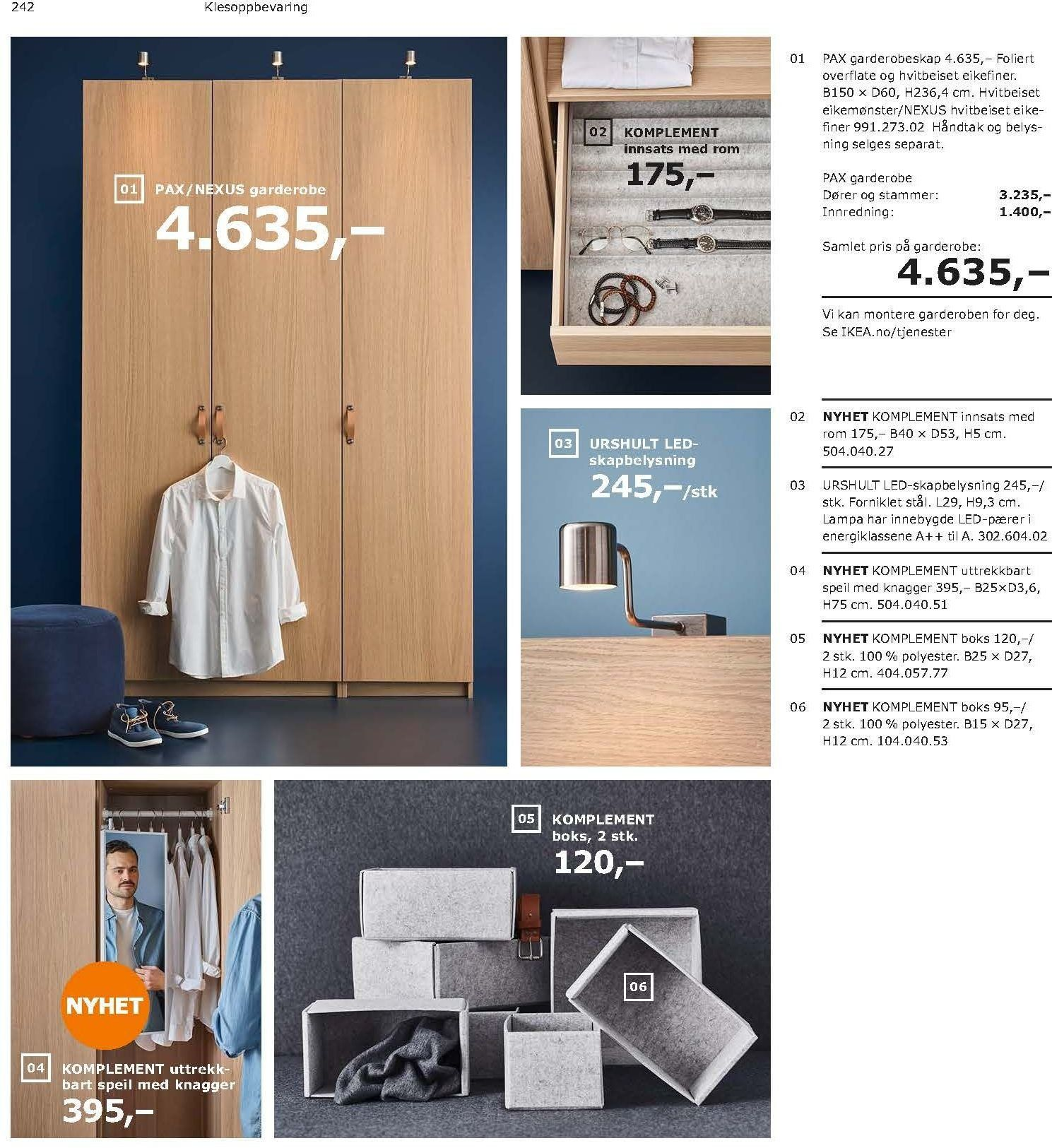 Kundeavis IKEA - 21.08.2018 - 11.08.2019. Side 242.