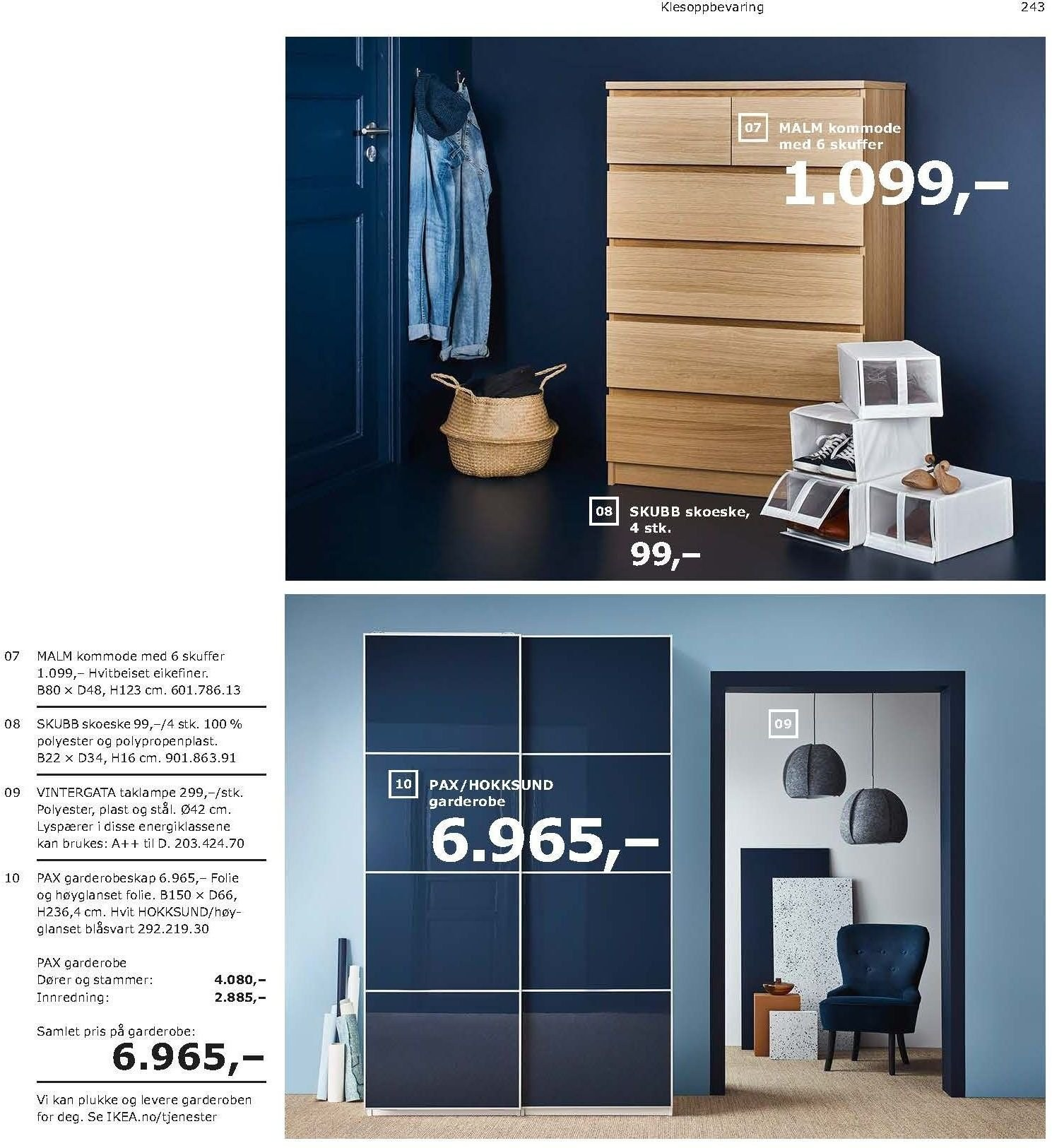 Kundeavis IKEA - 21.08.2018 - 11.08.2019. Side 243.