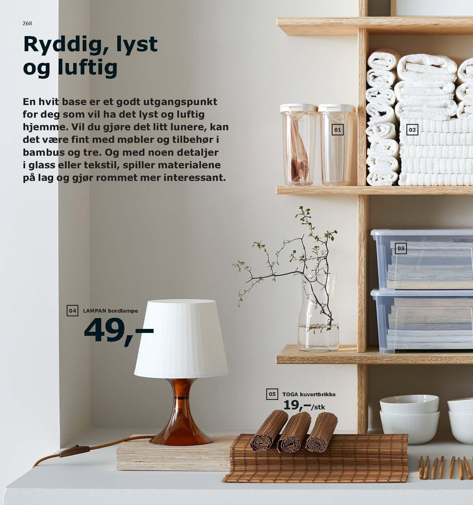 Kundeavis IKEA - 21.08.2018 - 11.08.2019. Side 268.