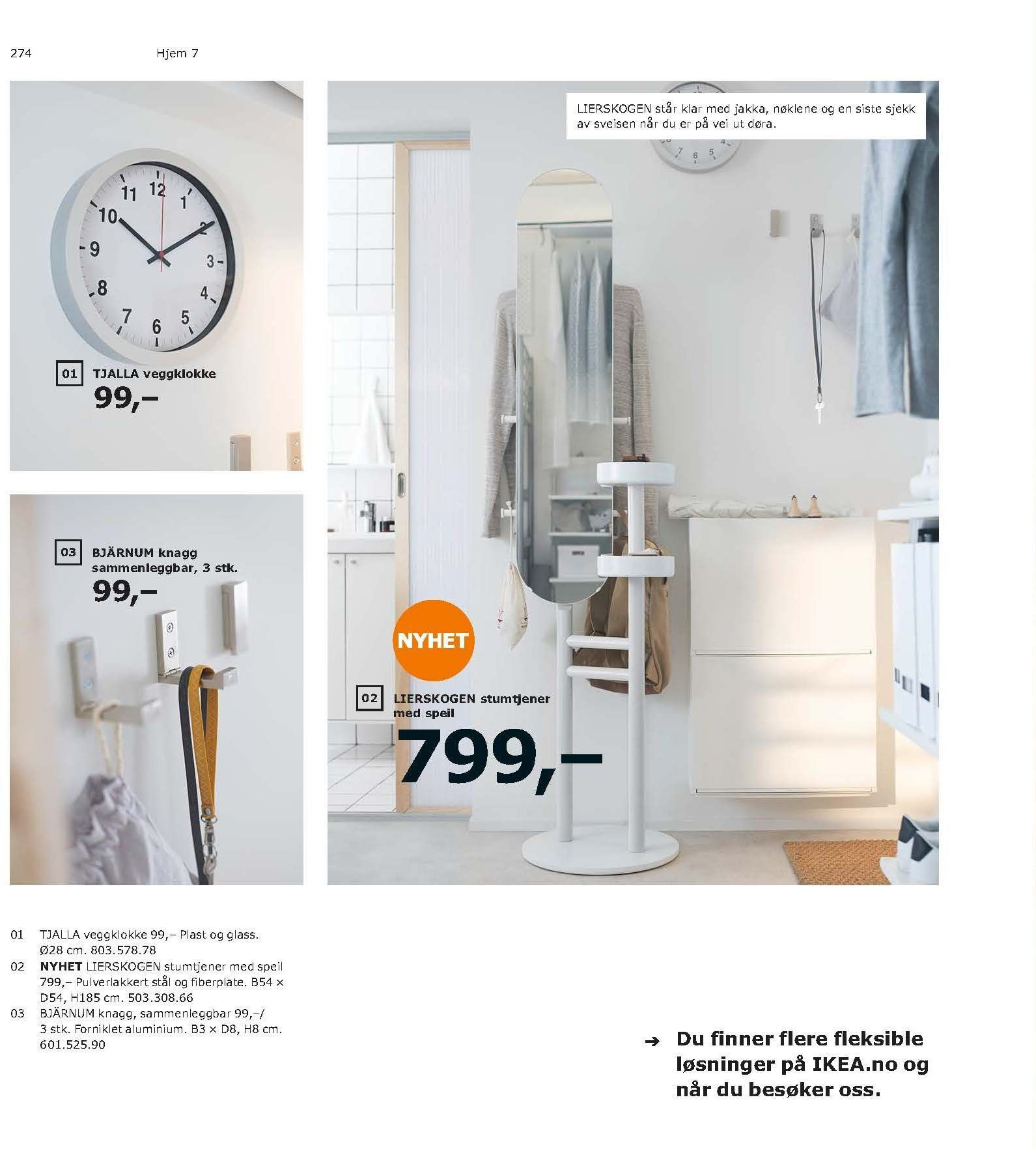 Kundeavis IKEA - 21.08.2018 - 11.08.2019. Side 274.