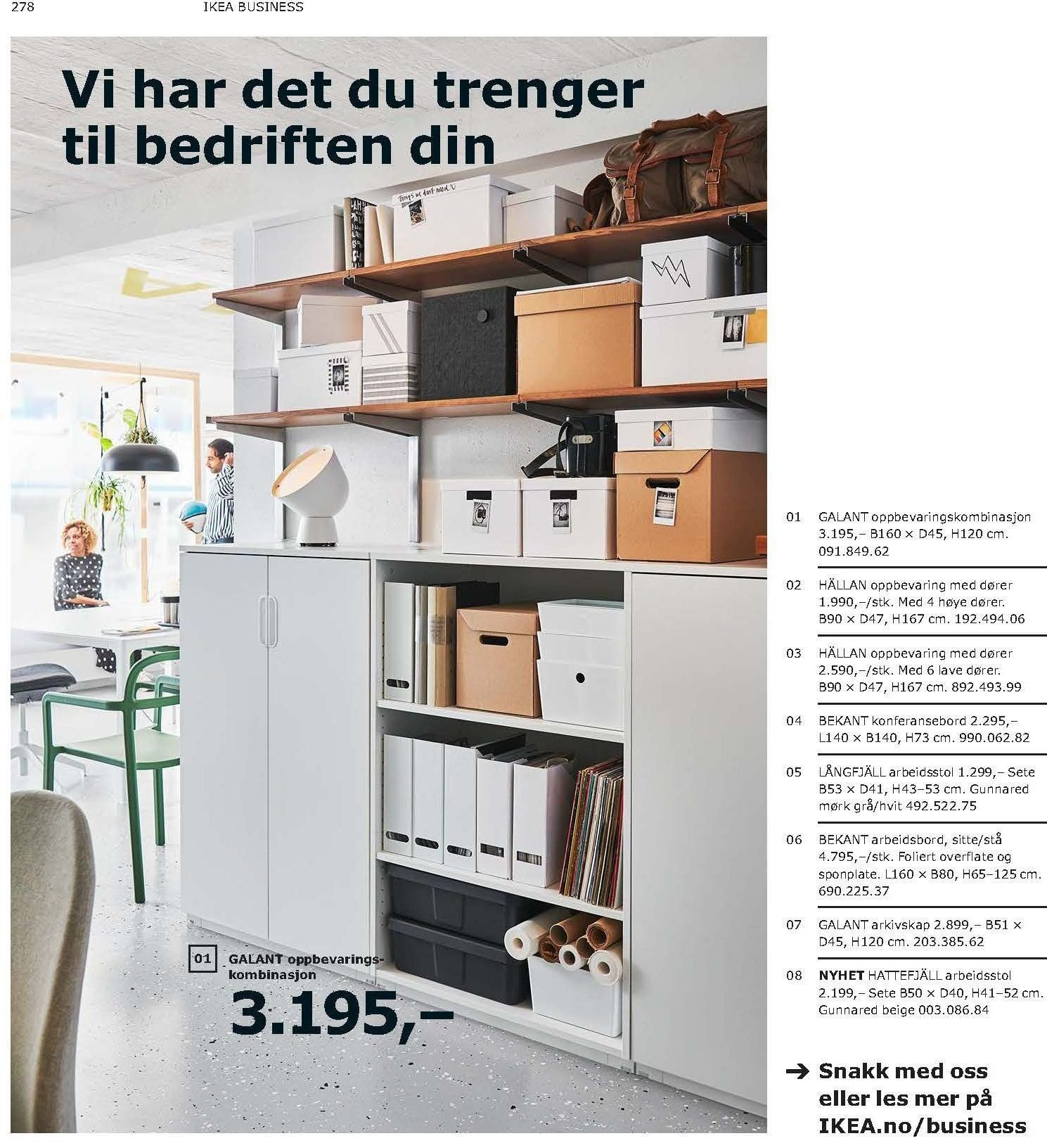 Kundeavis IKEA - 21.08.2018 - 11.08.2019. Side 278.
