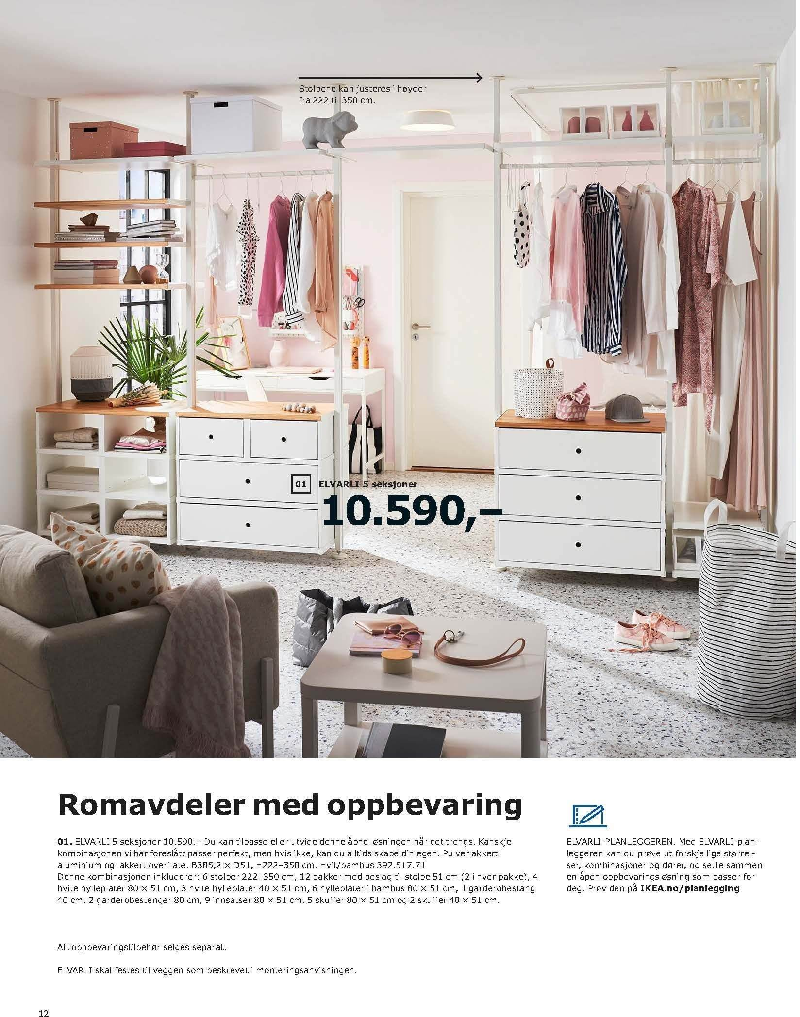Kundeavis IKEA - 20.08.2018 - 11.08.2019. Side 12.