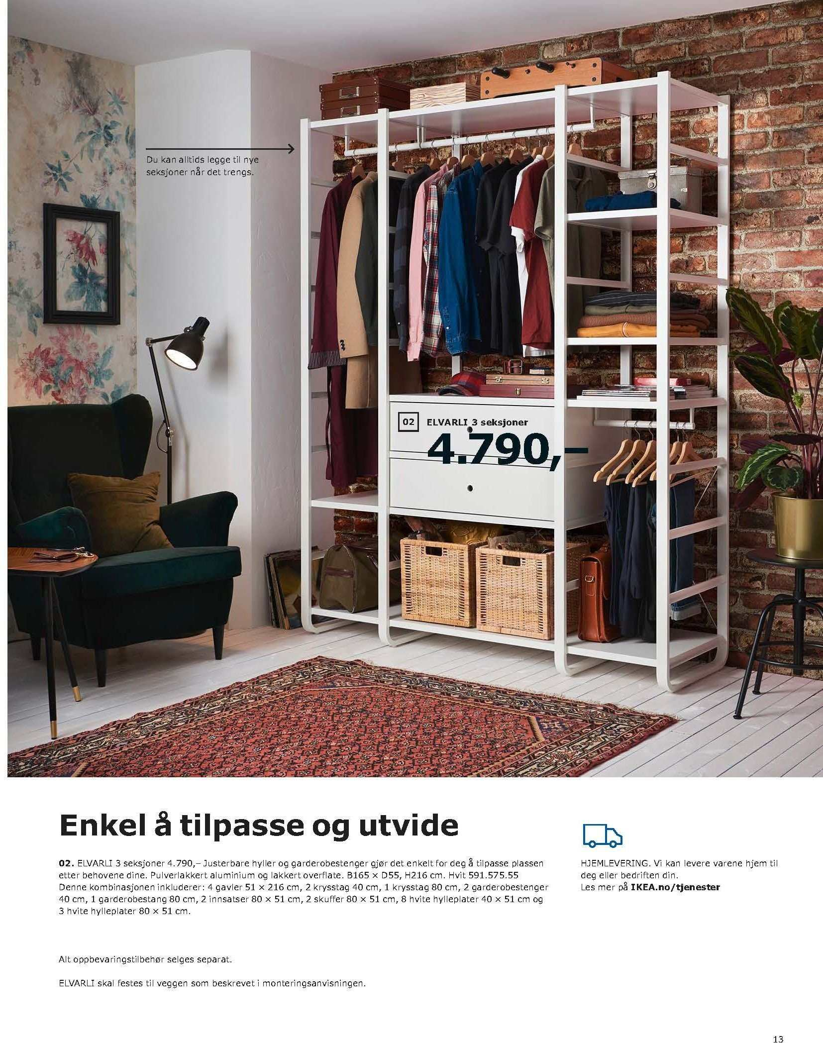 Kundeavis IKEA - 20.08.2018 - 11.08.2019. Side 13.