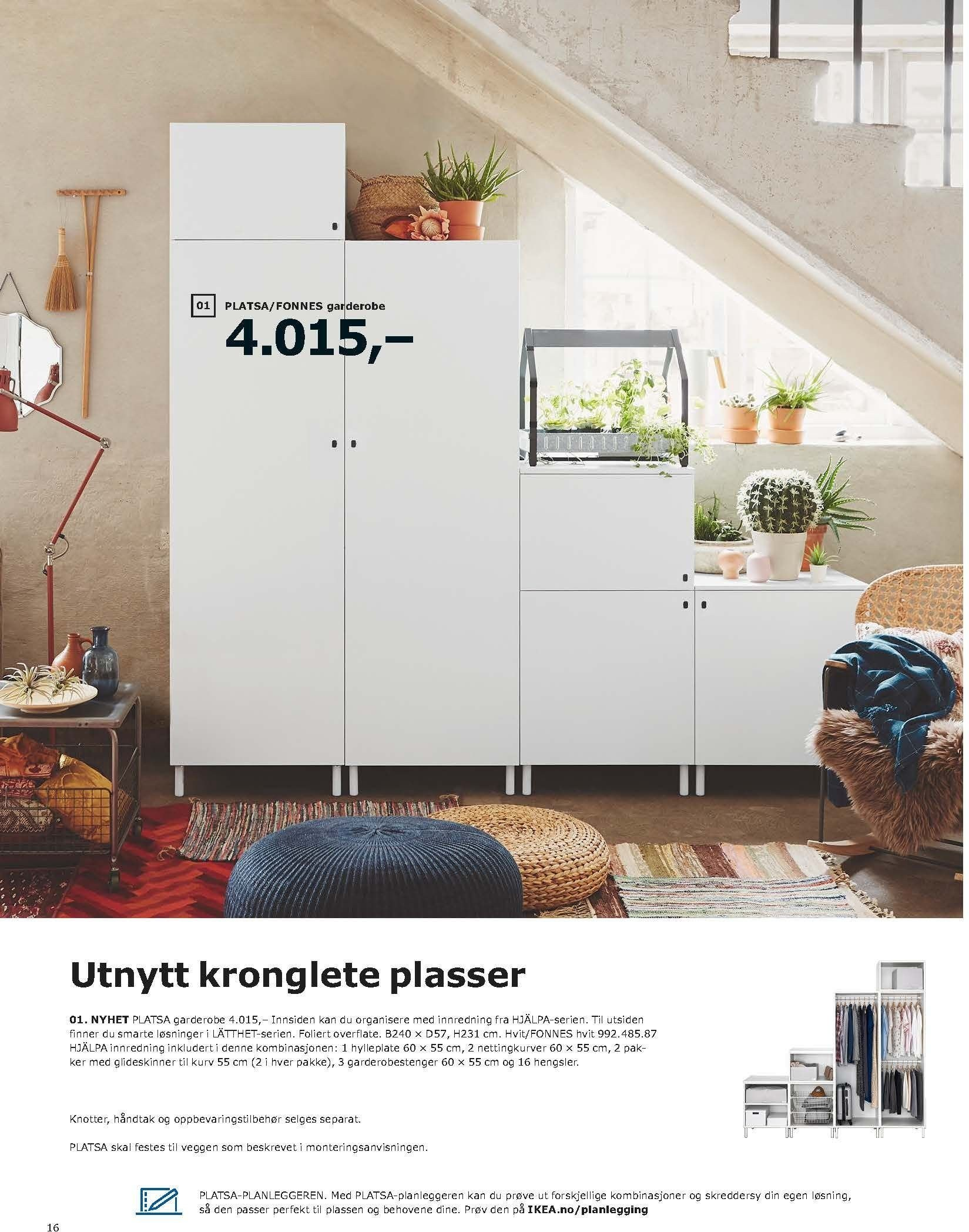 Kundeavis IKEA - 20.08.2018 - 11.08.2019. Side 16.