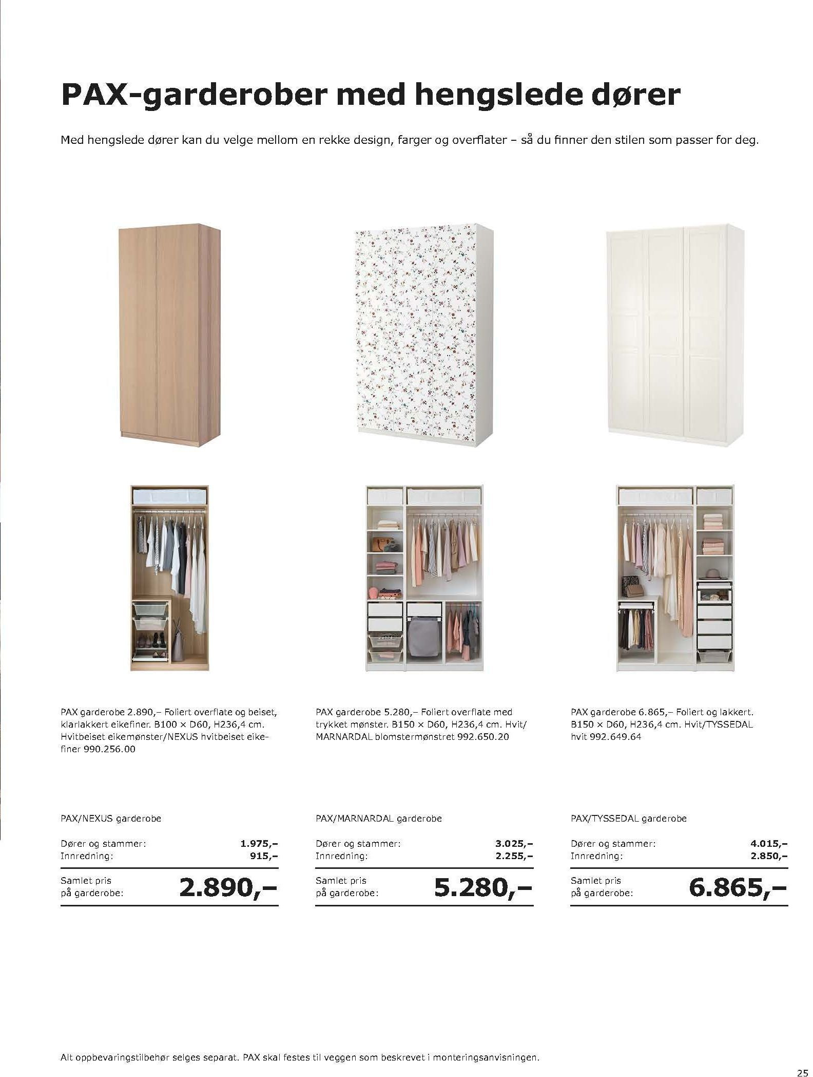 Kundeavis IKEA - 20.08.2018 - 11.08.2019. Side 25.