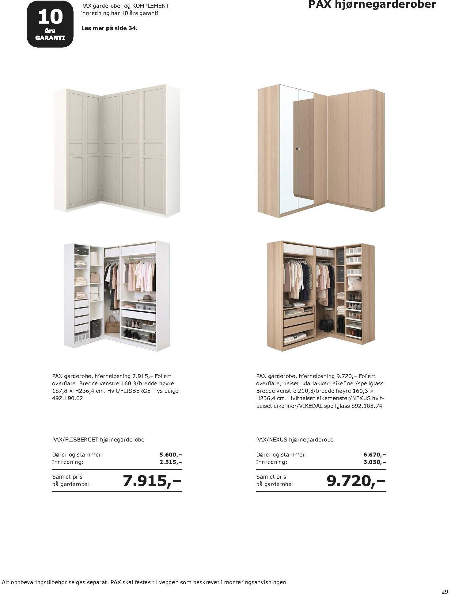 Kundeavis IKEA - 20.08.2018 - 11.08.2019. Side 29.