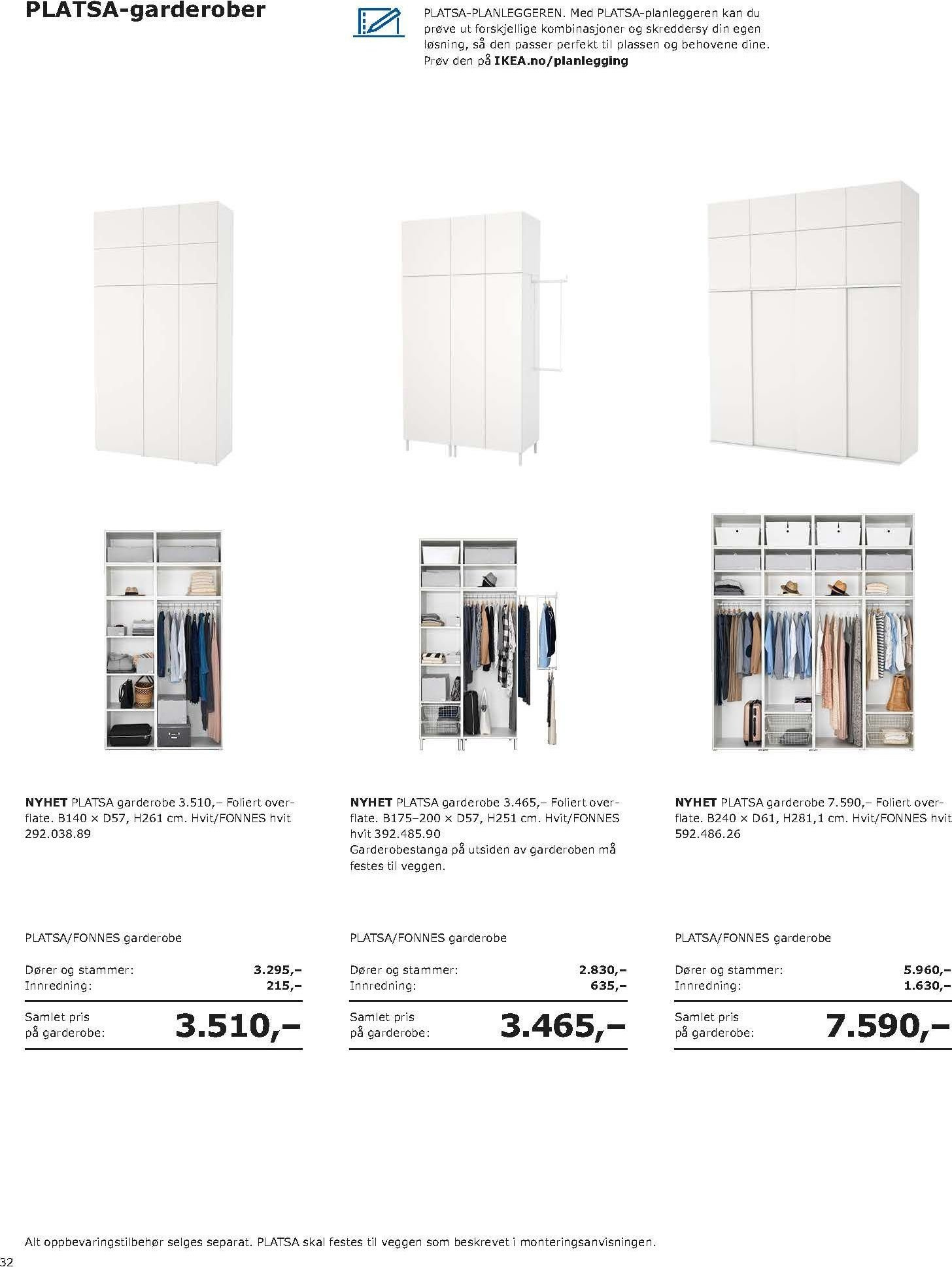 Kundeavis IKEA - 20.08.2018 - 11.08.2019. Side 32.