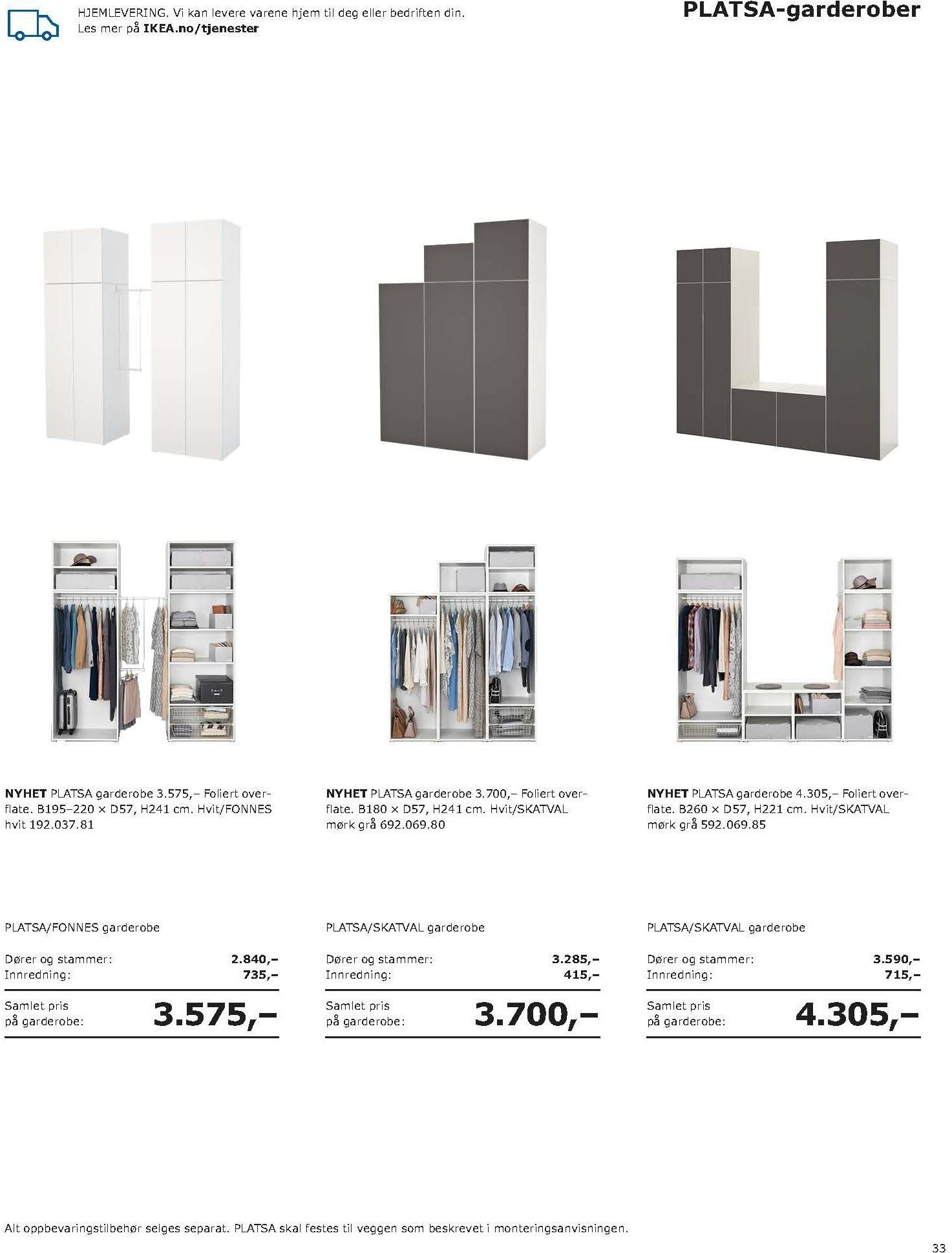 Kundeavis IKEA - 20.08.2018 - 11.08.2019. Side 33.