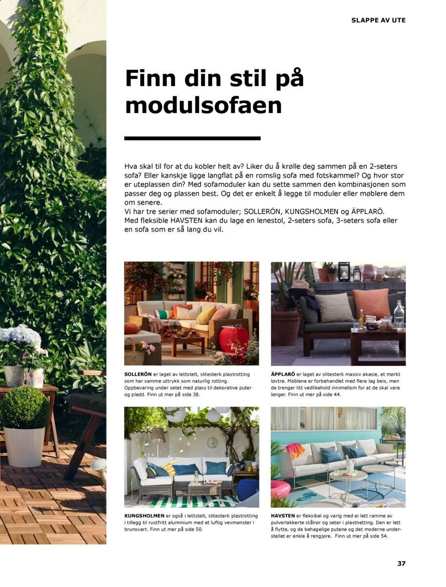Kundeavis IKEA - 20.08.2018 - 31.08.2019. Side 37.