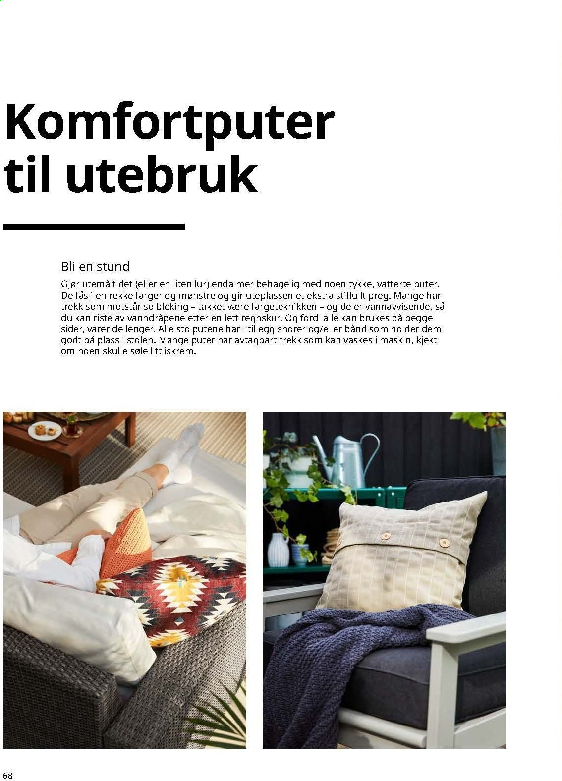 Kundeavis IKEA. Side 68.
