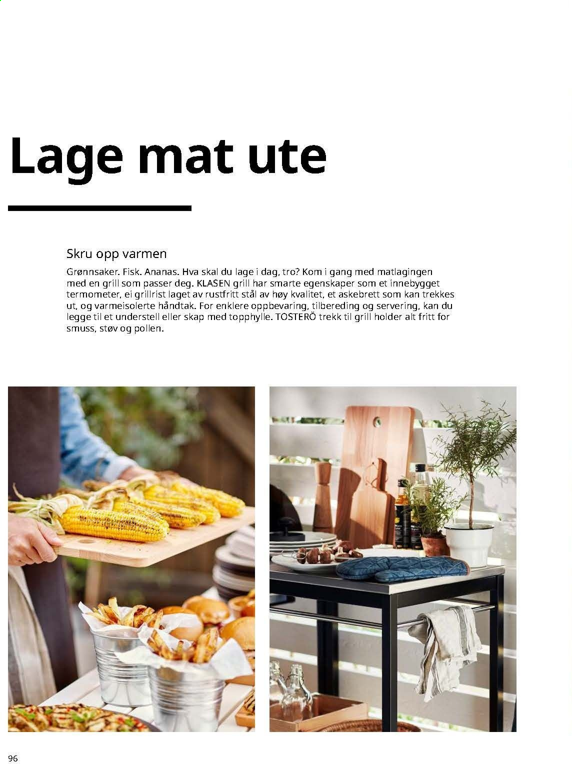 Kundeavis IKEA. Side 96.