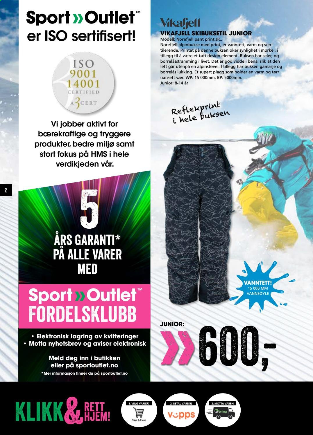Kundeavis Sport Outlet - 14.01.2021 - 16.01.2021. Side 2.