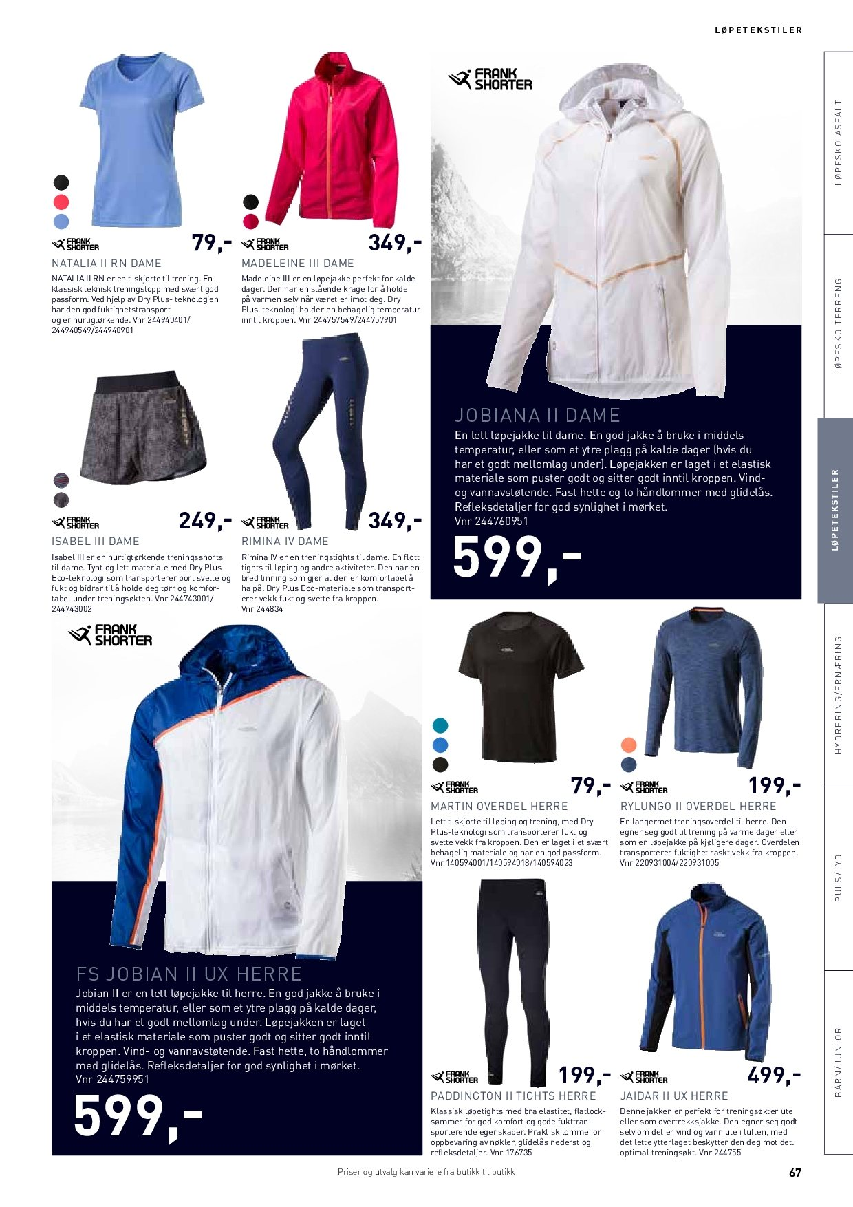 Kundeavis Intersport - 18.04.2018 - 31.12.2018. Side 68.