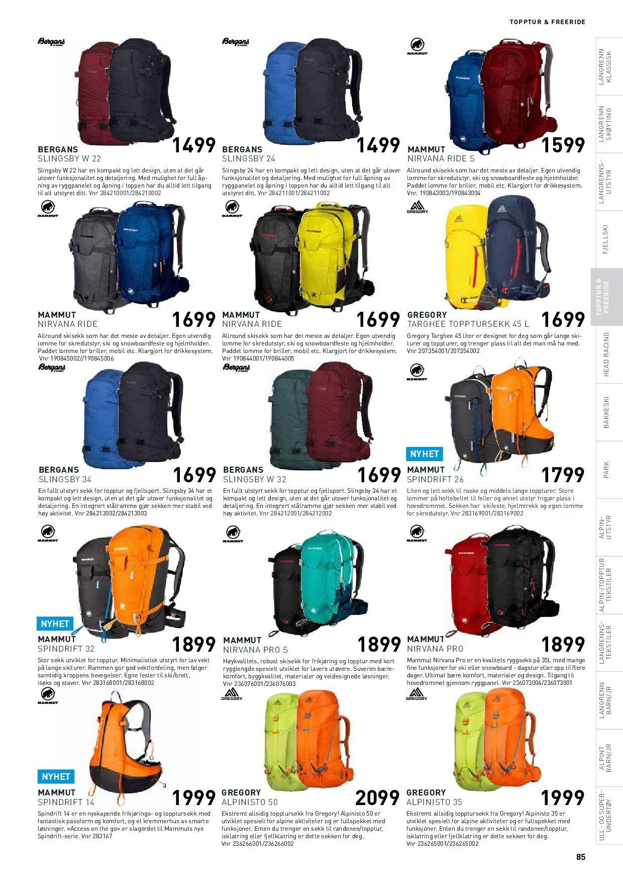 Kundeavis Intersport - 24.02.2019 - 25.02.2019. Side 85.