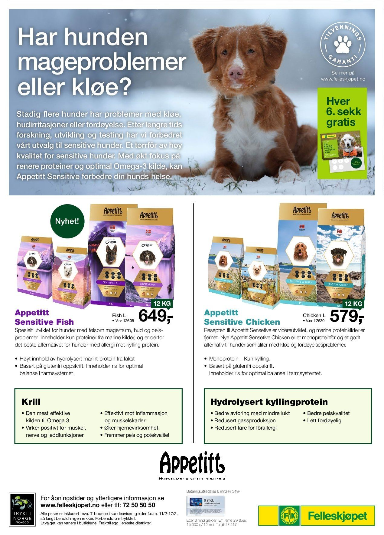 Kundeavis Felleskjøpet - 11.02.2019 - 17.02.2019. Side 12.