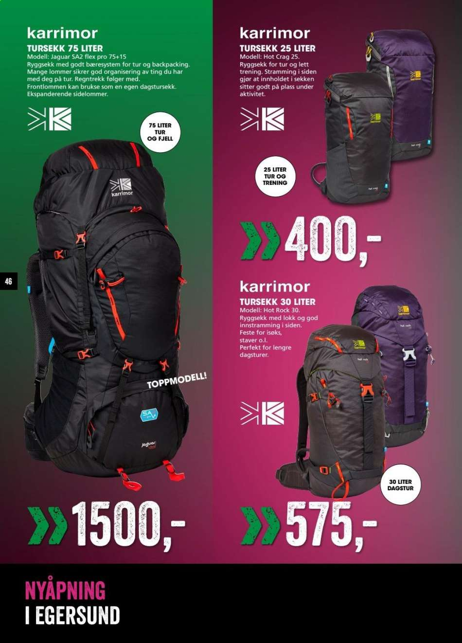 d6e221b0 Sport Outlet kundeavis 06.05.2019 - 09.05.2019 | Alletilbudsaviser.co.no