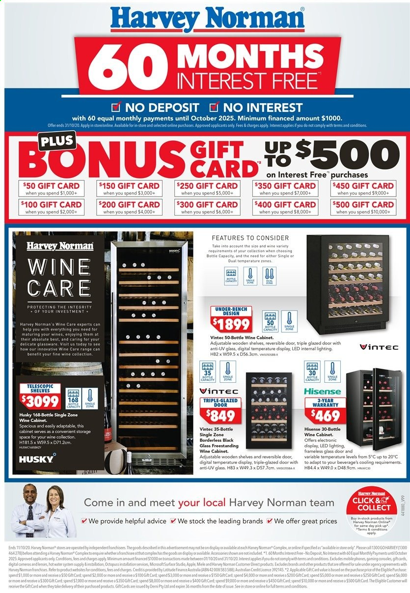Harvey Norman catalogue  - 3.10.2020 - 11.10.2020. Page 12.