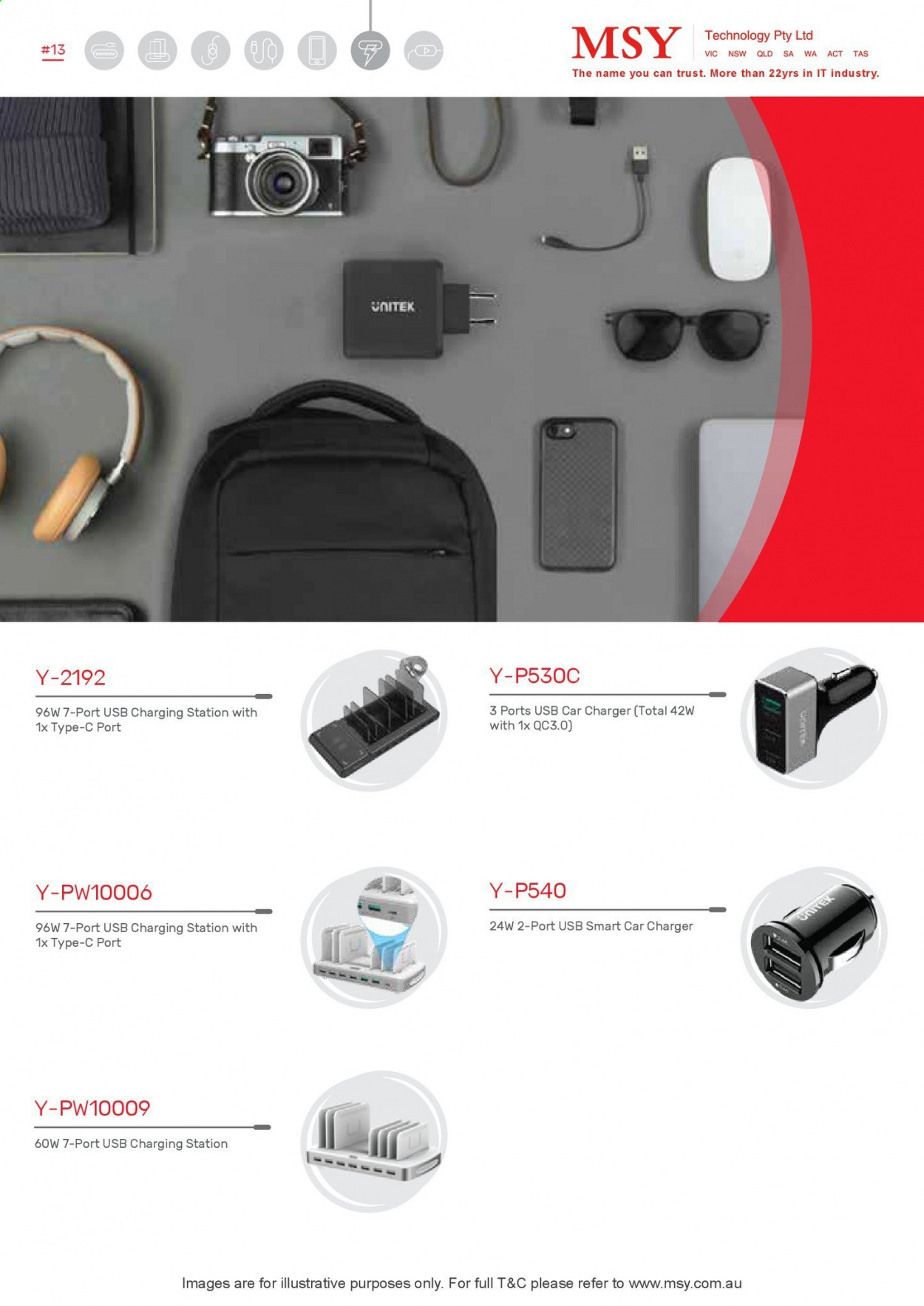 MSY Technology catalogue . Page 14.