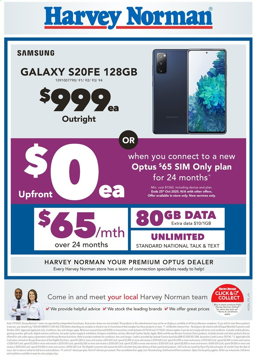 Harvey Norman catalogue  - 16.10.2020 - 19.10.2020. Page 10.