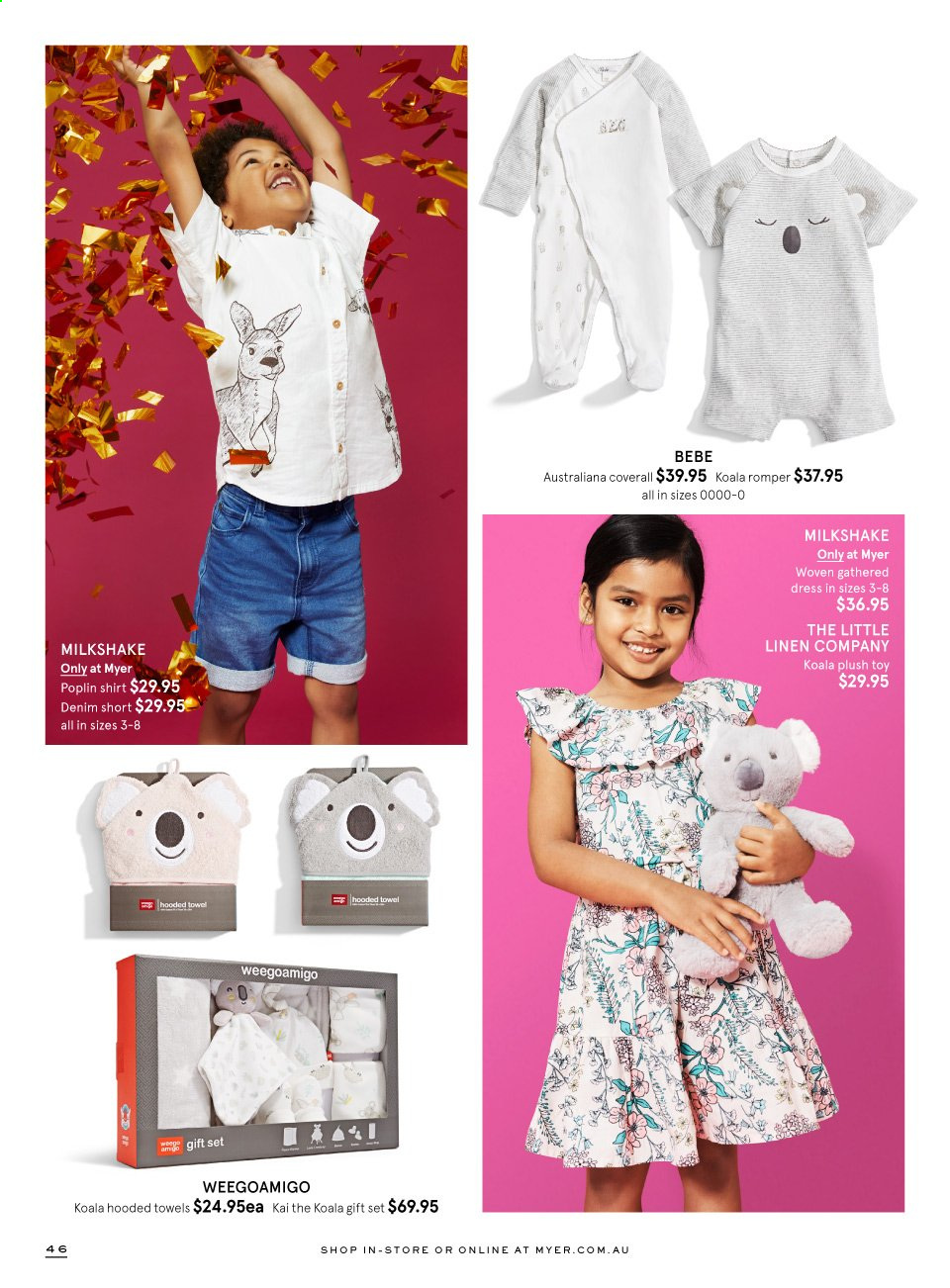 Myer catalogue  - 3.11.2020 - 24.12.2020. Page 46.