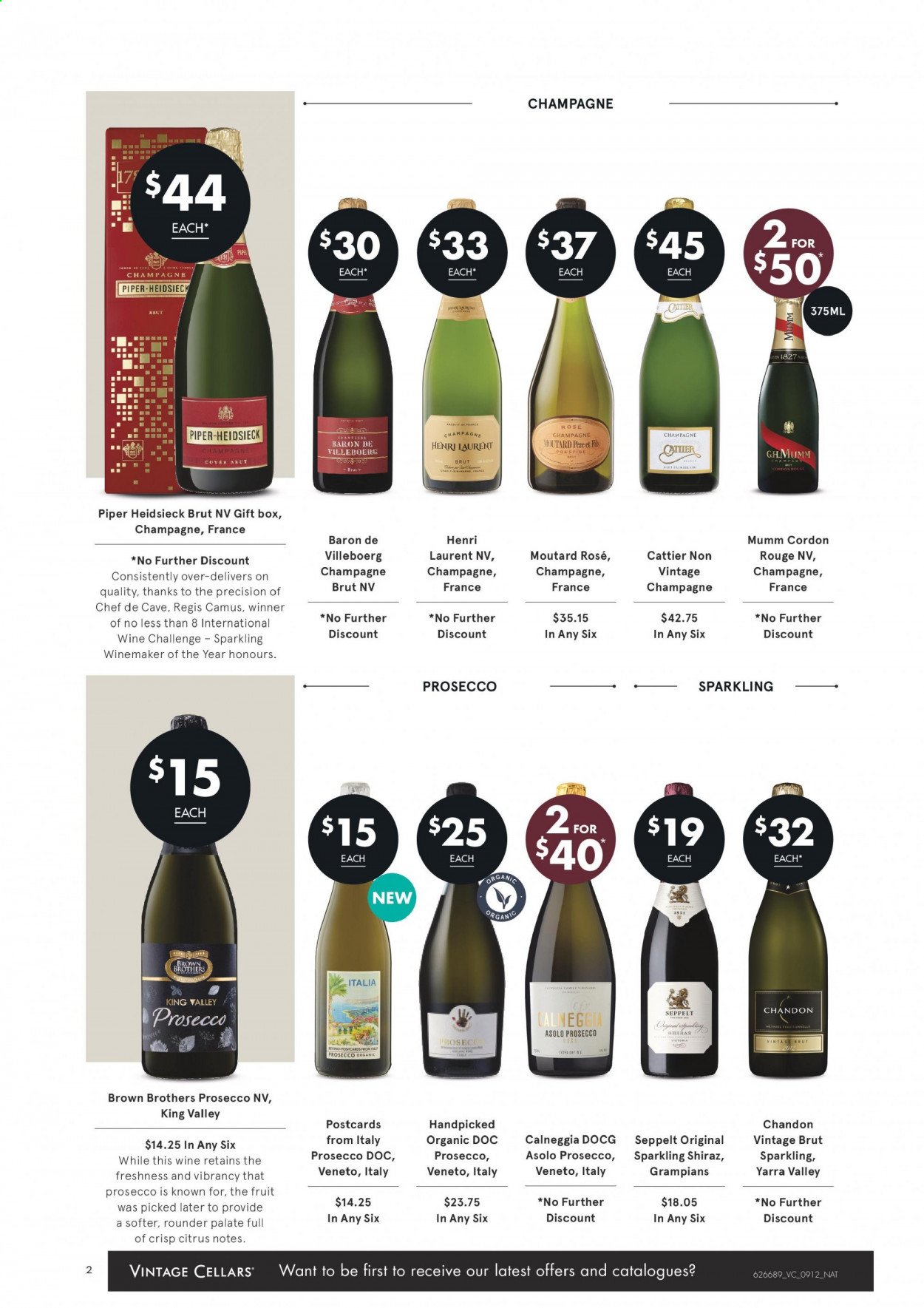 Vintage Cellars catalogue  - 9.12.2020 - 22.12.2020. Page 2.