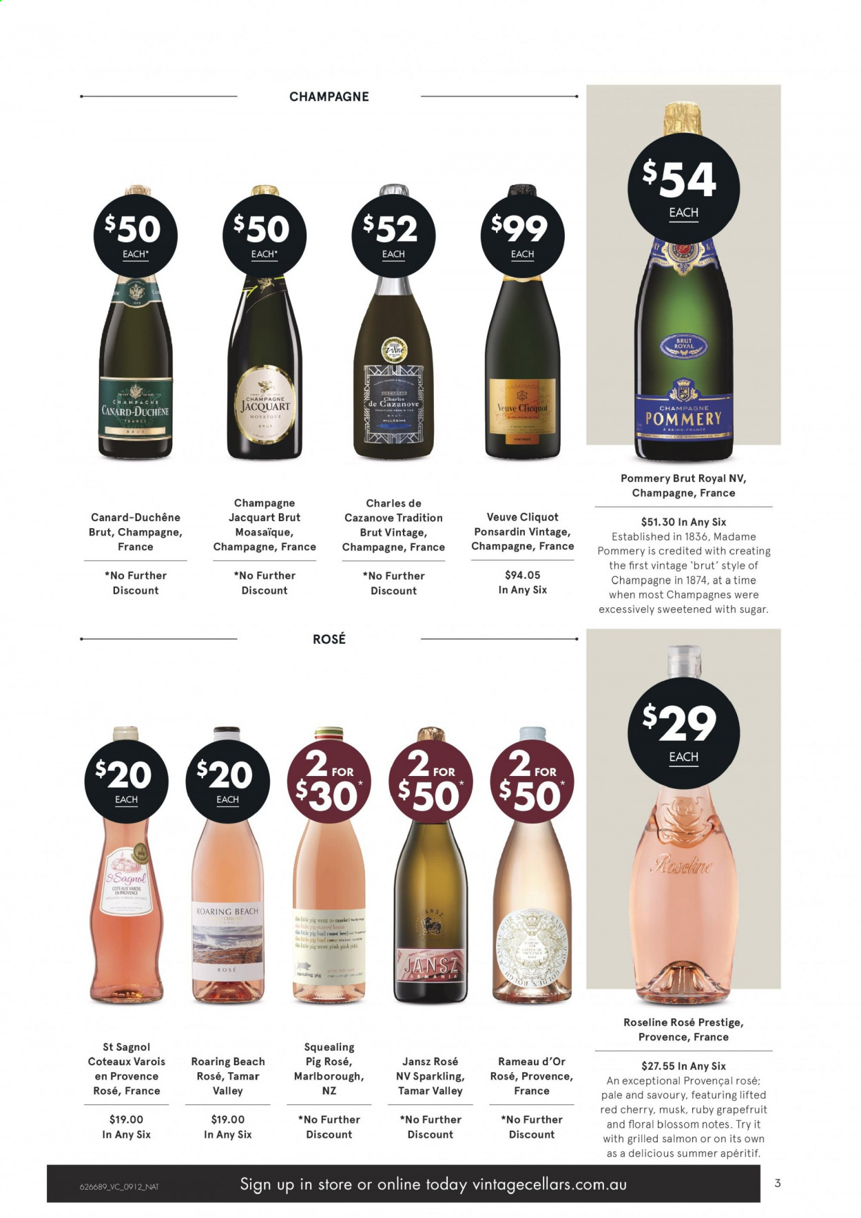 Vintage Cellars catalogue  - 9.12.2020 - 22.12.2020. Page 3.