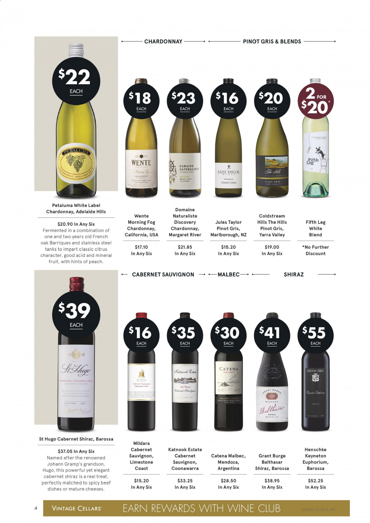 Vintage Cellars catalogue  - 9.12.2020 - 22.12.2020. Page 4.