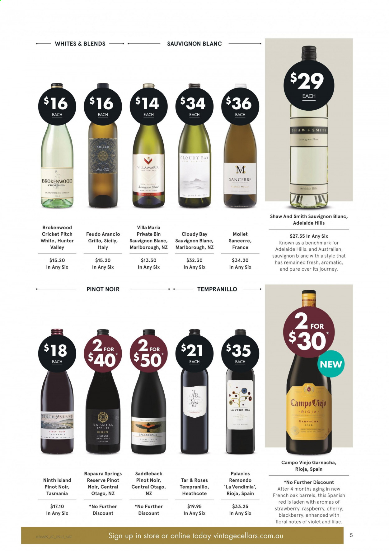 Vintage Cellars catalogue  - 9.12.2020 - 22.12.2020. Page 5.