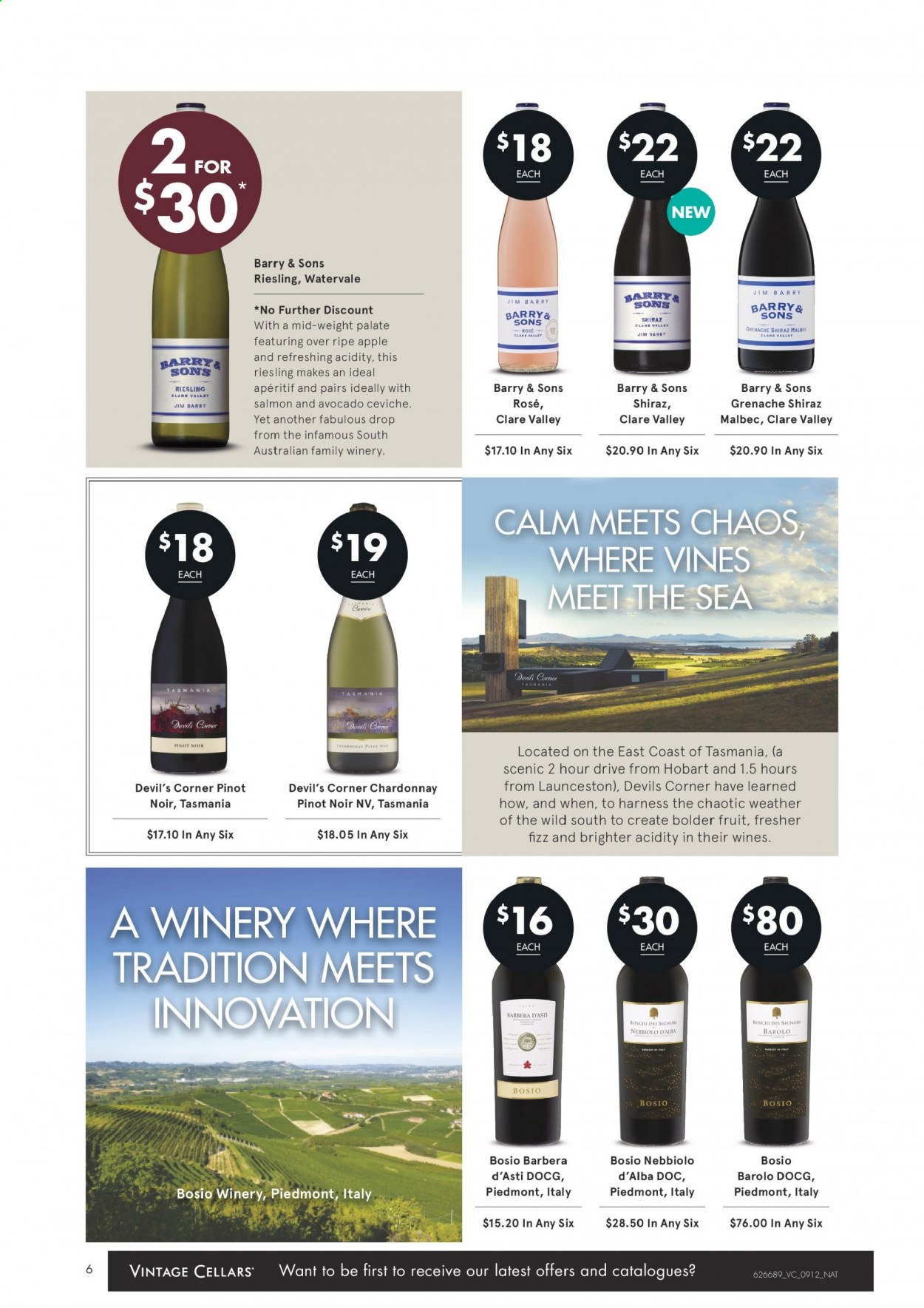 Vintage Cellars catalogue  - 9.12.2020 - 22.12.2020. Page 6.