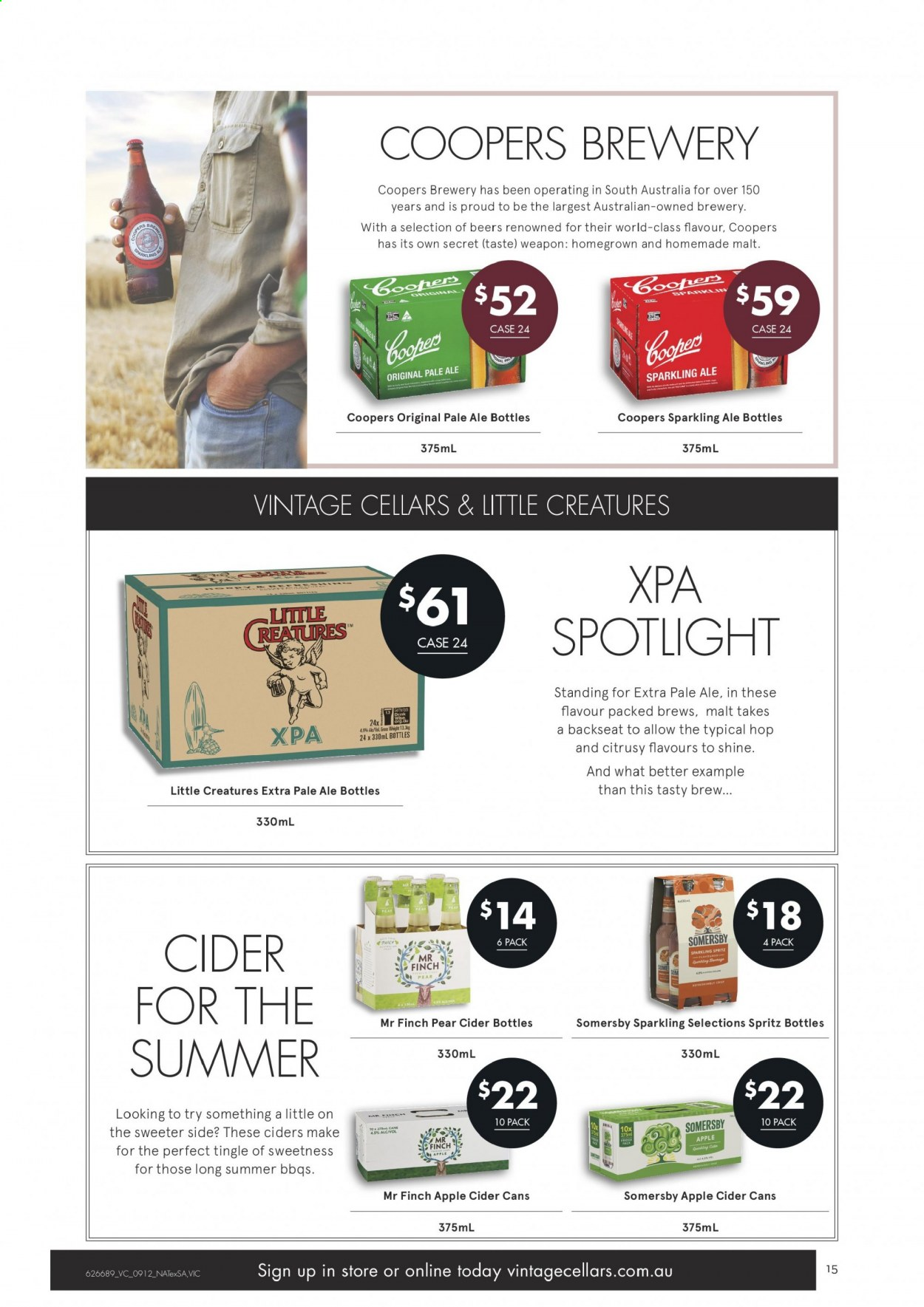 Vintage Cellars catalogue  - 9.12.2020 - 22.12.2020. Page 15.