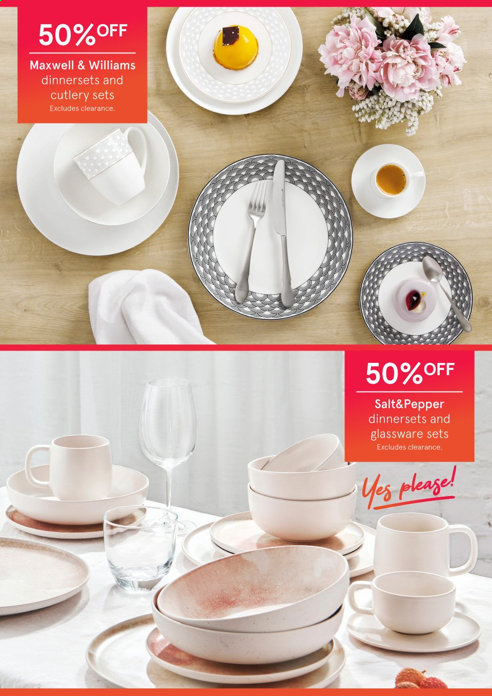 Myer catalogue . Page 10.