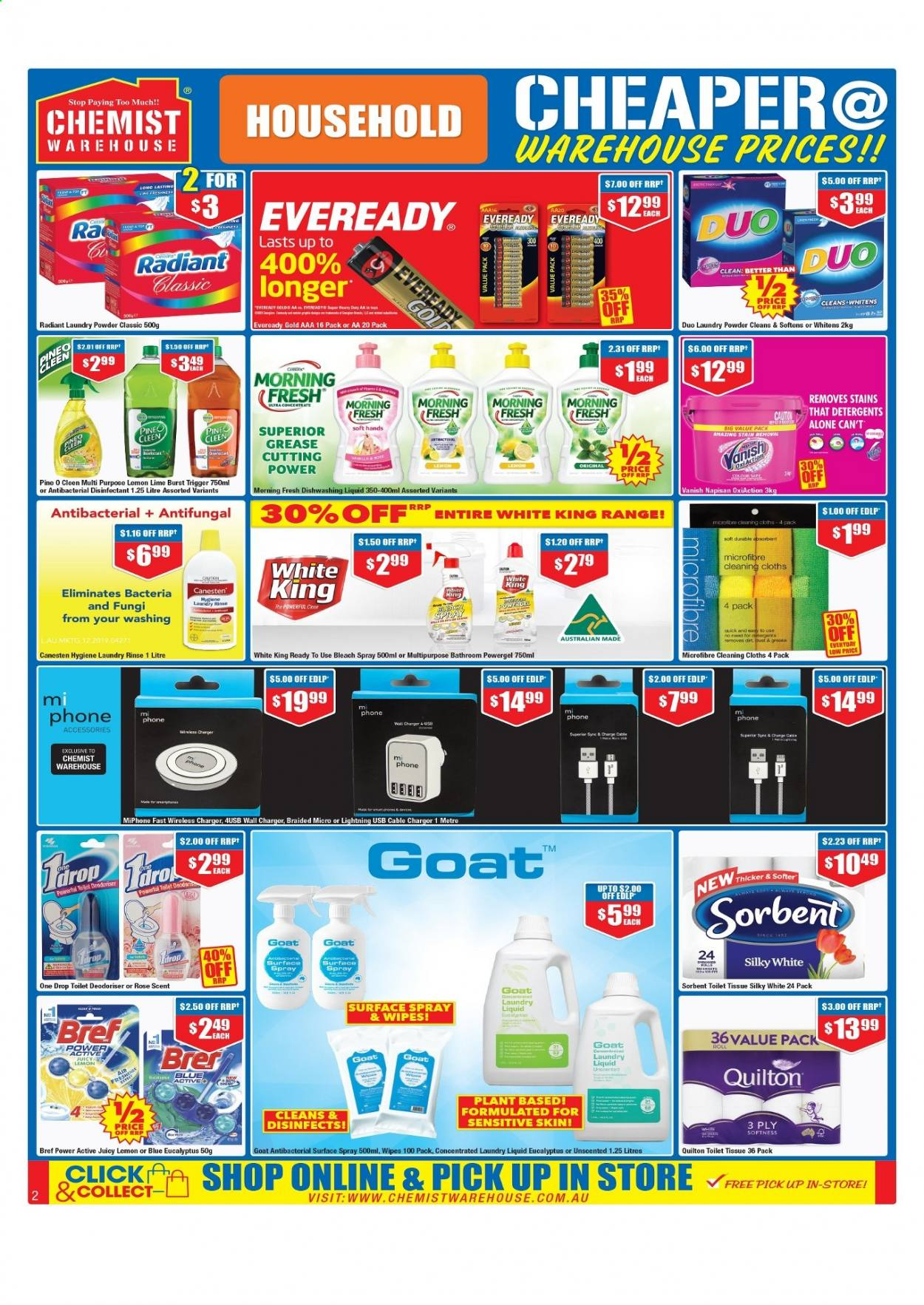 Chemist Warehouse catalogue  - 25.2.2021 - 10.3.2021. Page 2.