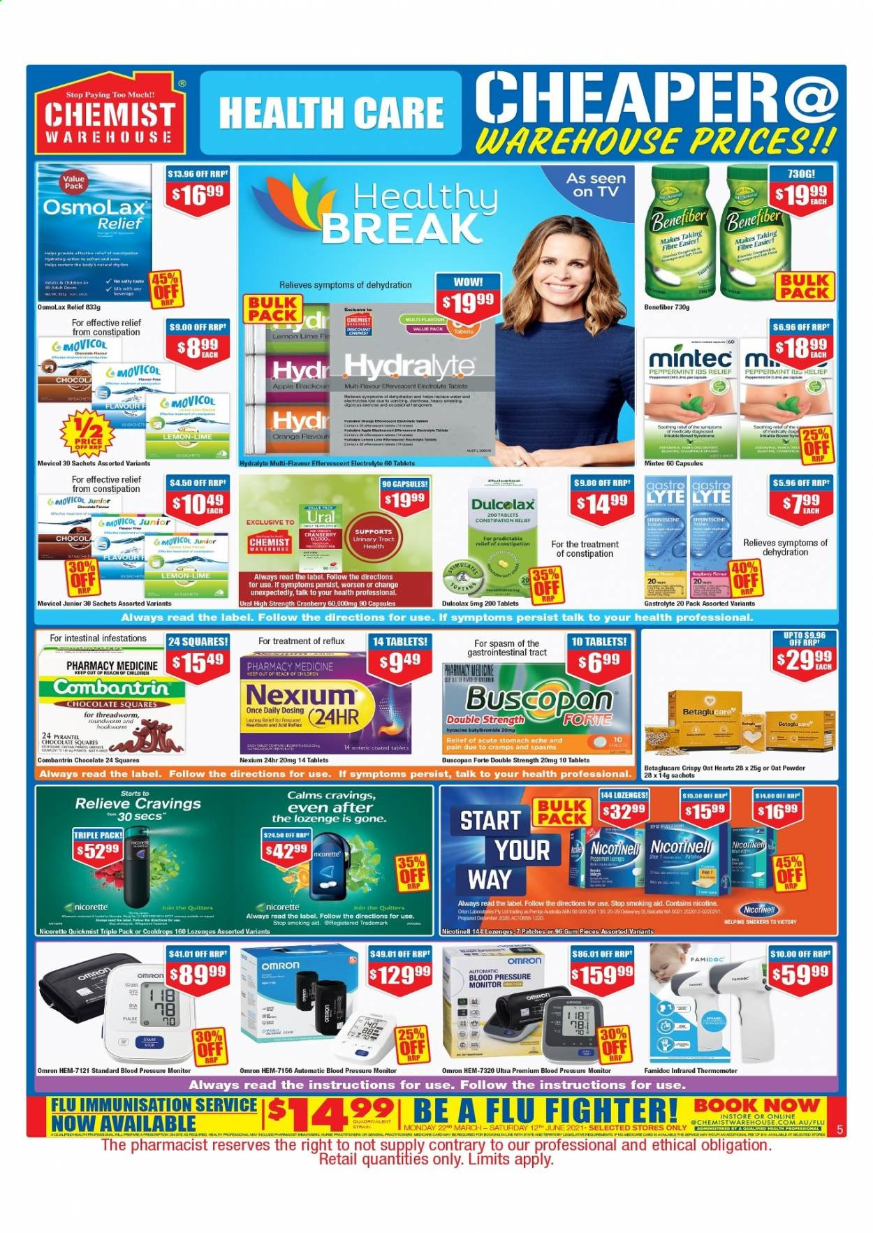 Chemist Warehouse catalogue  - 25.2.2021 - 10.3.2021. Page 5.