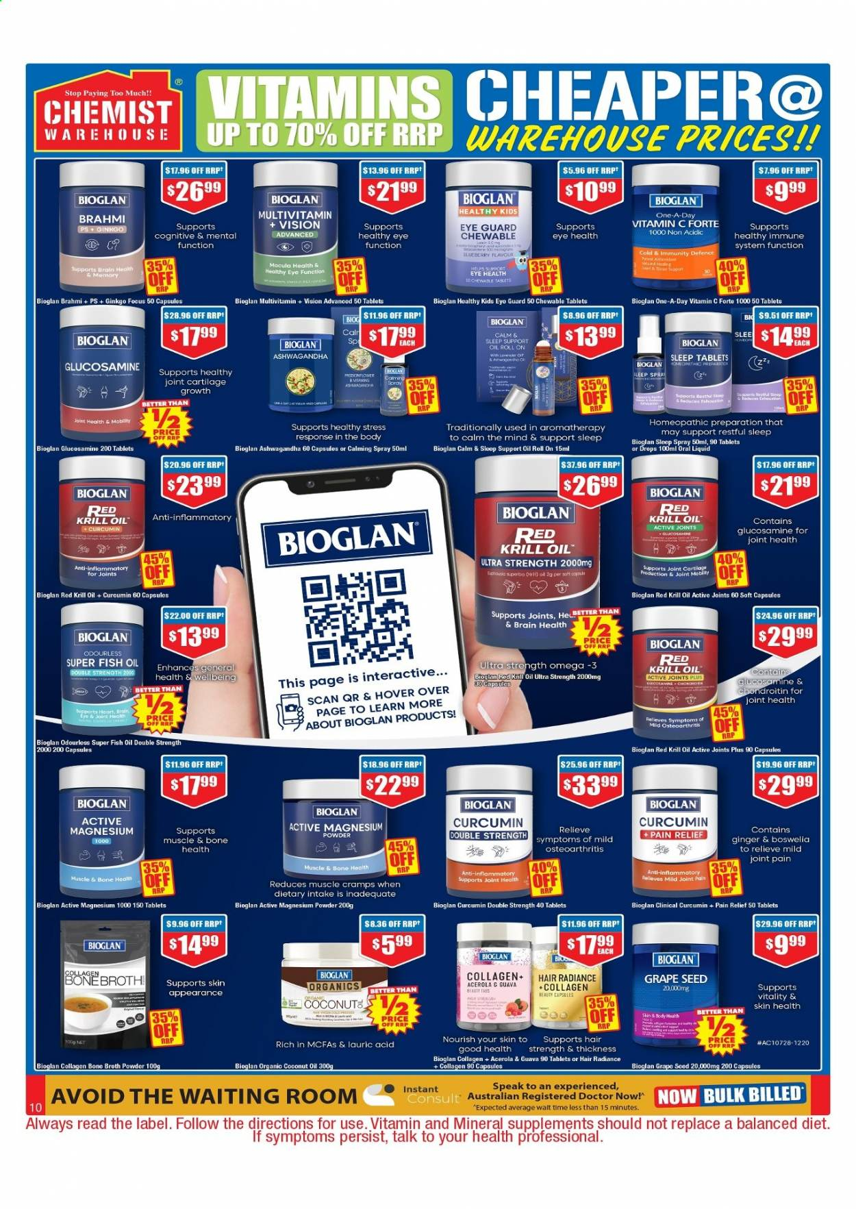 Chemist Warehouse catalogue  - 25.2.2021 - 10.3.2021. Page 10.