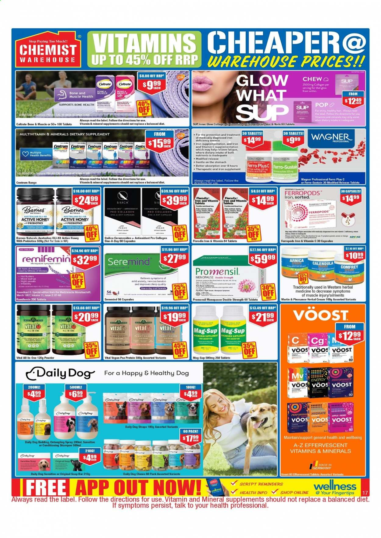 Chemist Warehouse catalogue  - 25.2.2021 - 10.3.2021. Page 17.