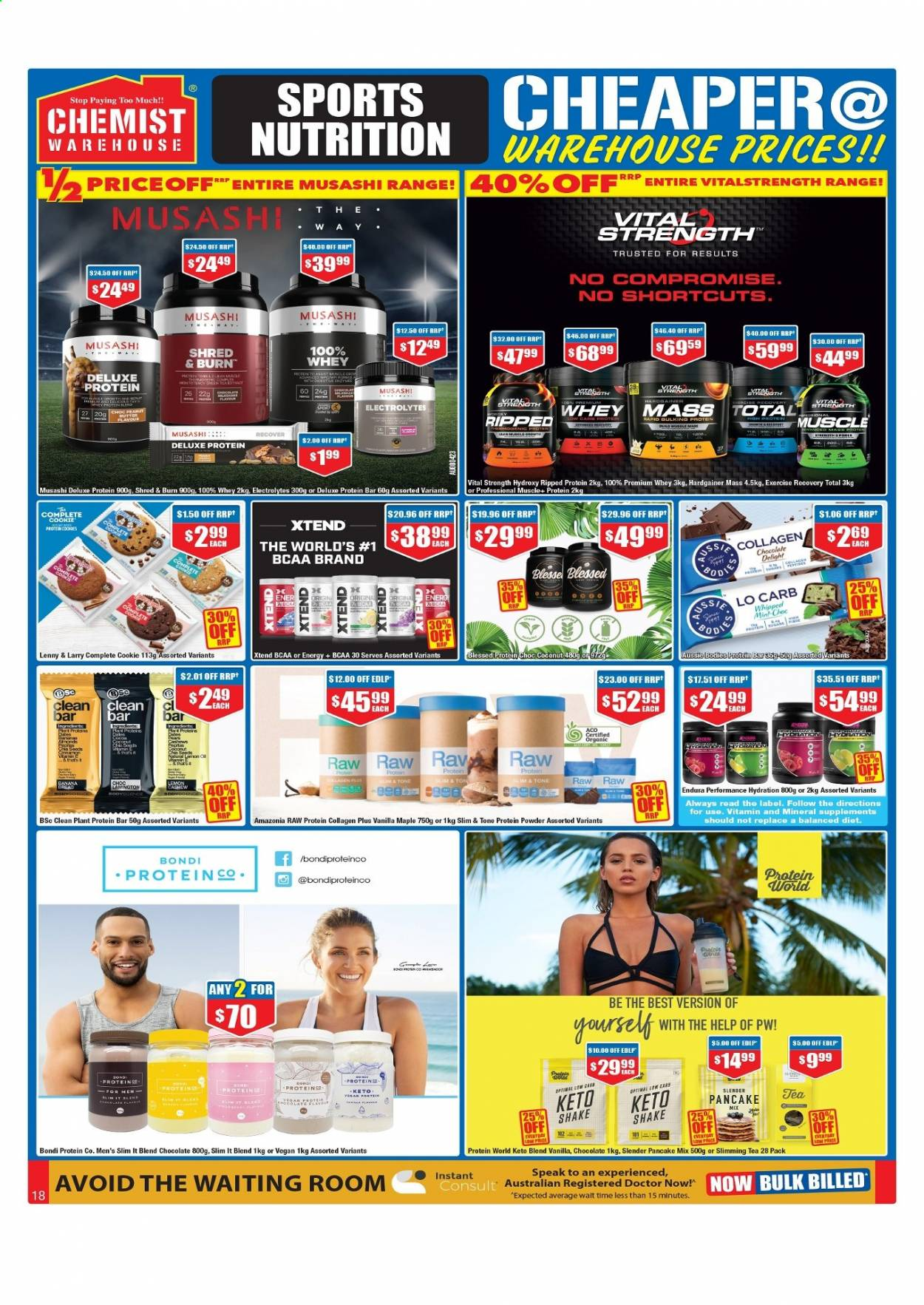 Chemist Warehouse catalogue  - 25.2.2021 - 10.3.2021. Page 18.