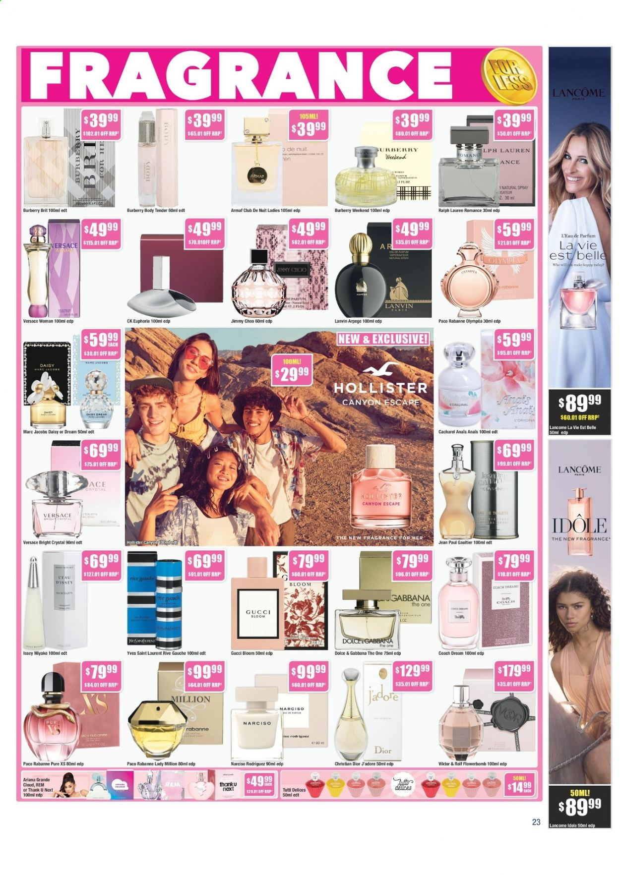 Chemist Warehouse catalogue  - 25.2.2021 - 10.3.2021. Page 23.